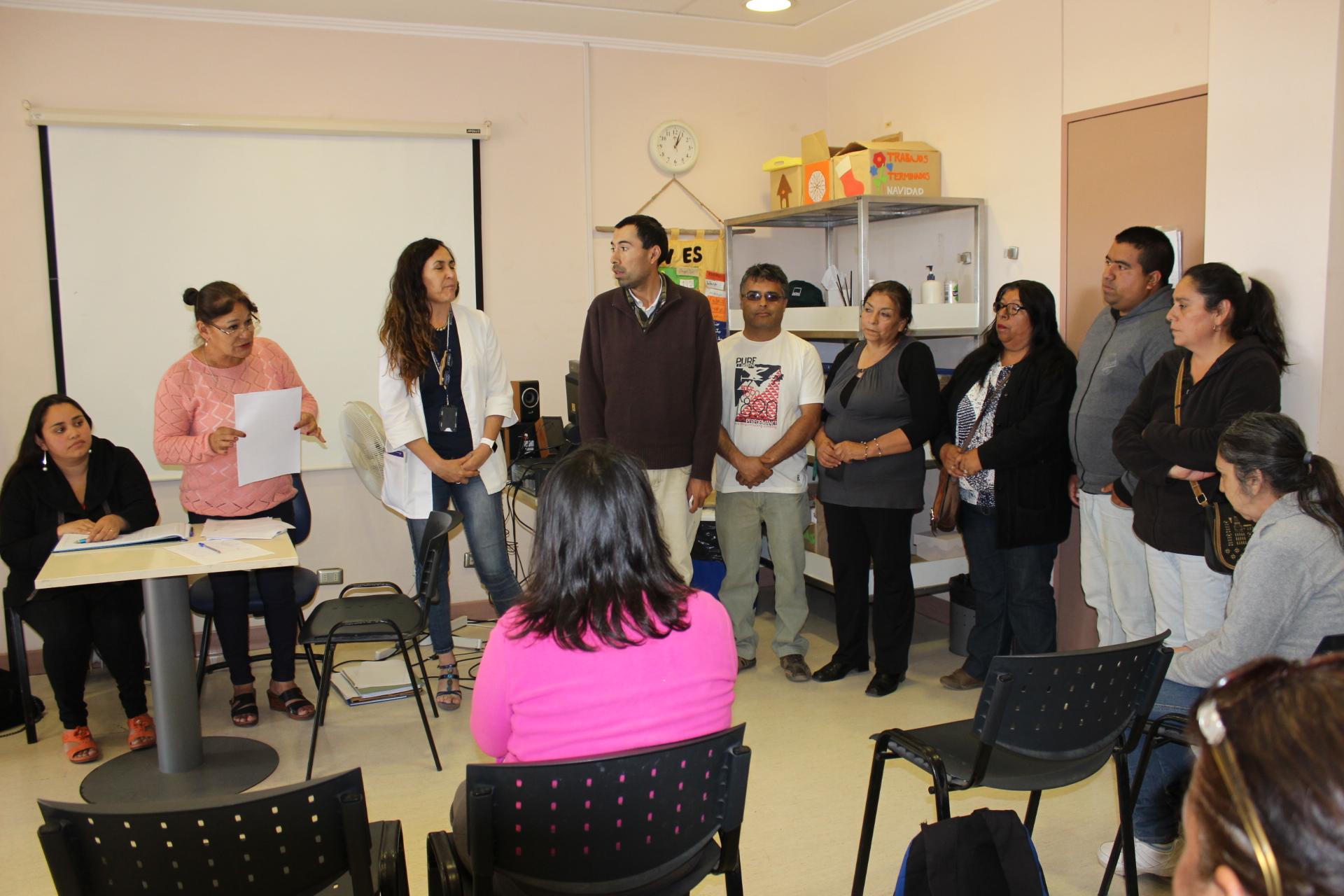 """Unidad de Salud Mental del HPH conforma agrupación para usuarios de """"Hospital de Día"""""""