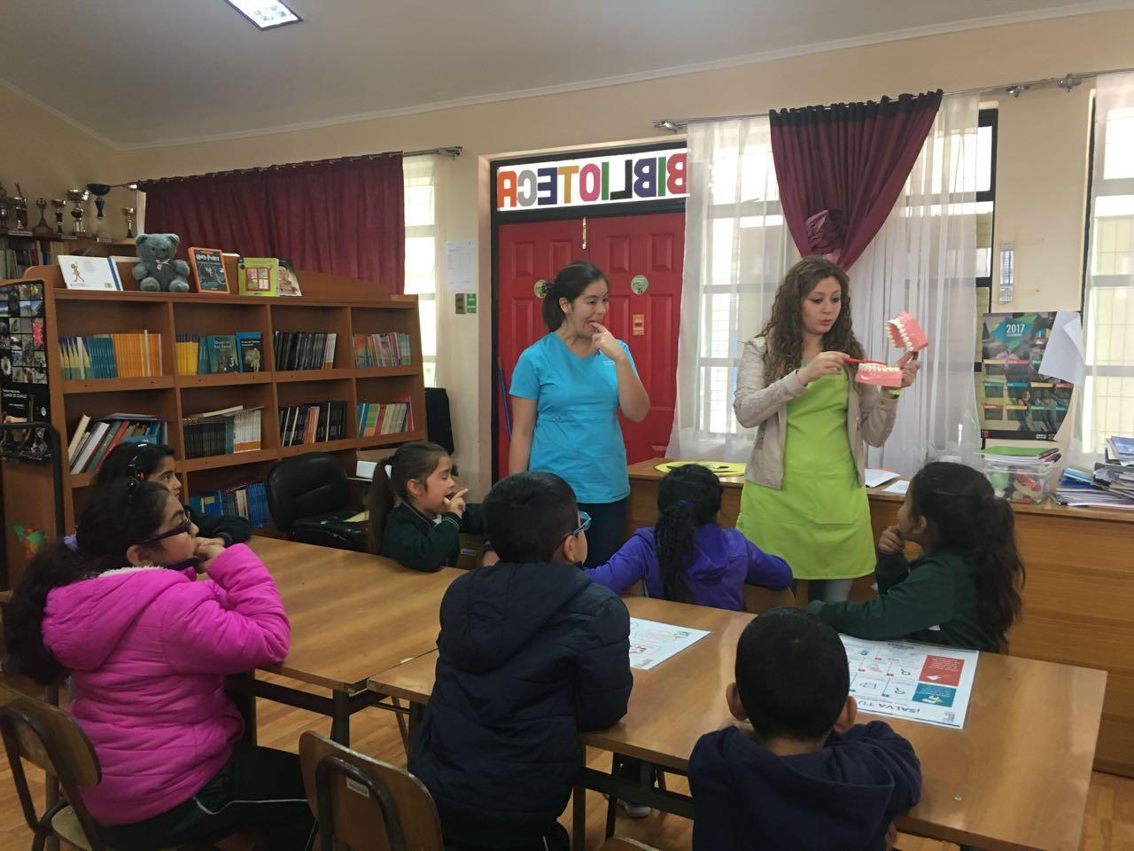 Programa social de Guacolda enseñó a niños de Huasco sobre higiene bucal