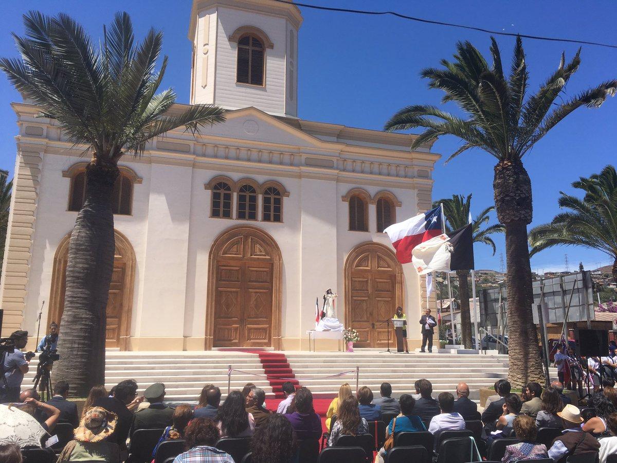 Iglesia Santa Rosa de Lima fue restaurada y reinagurada en Freirina