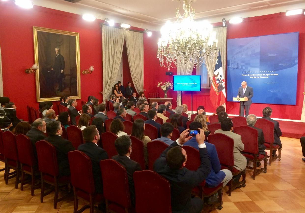 Senadora electa Yasna Provoste destaca construcción de Planta Desalinizadora de agua de mar en Atacama