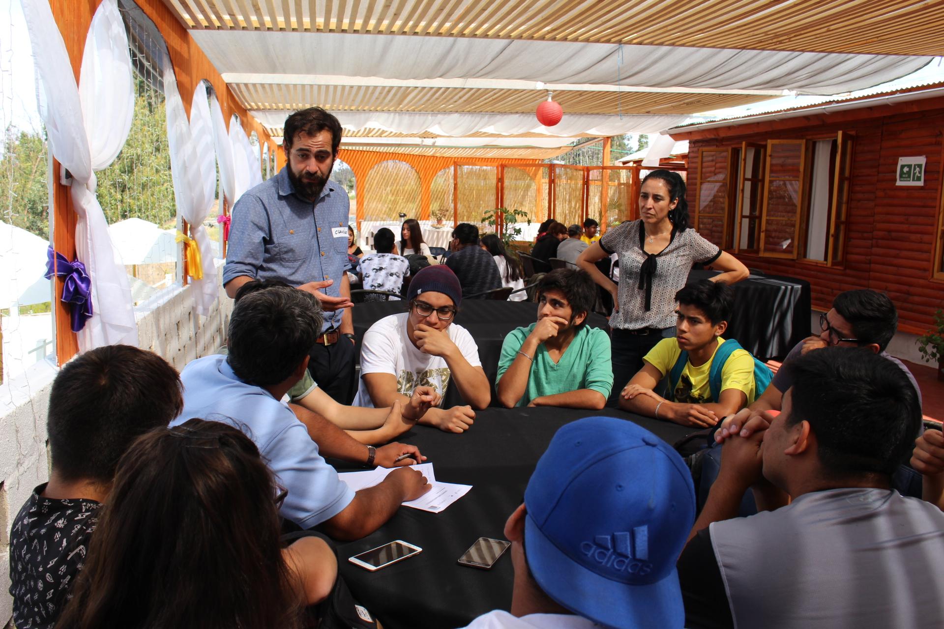 Estudiantes y profesores de liceos técnicos profesionales se preparan para ser líderes en Atacama