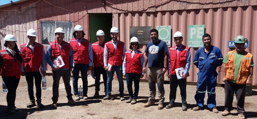 INACAP realizará ceremonia de cierre del proyecto Asistencia técnica a Asociación de Mineros