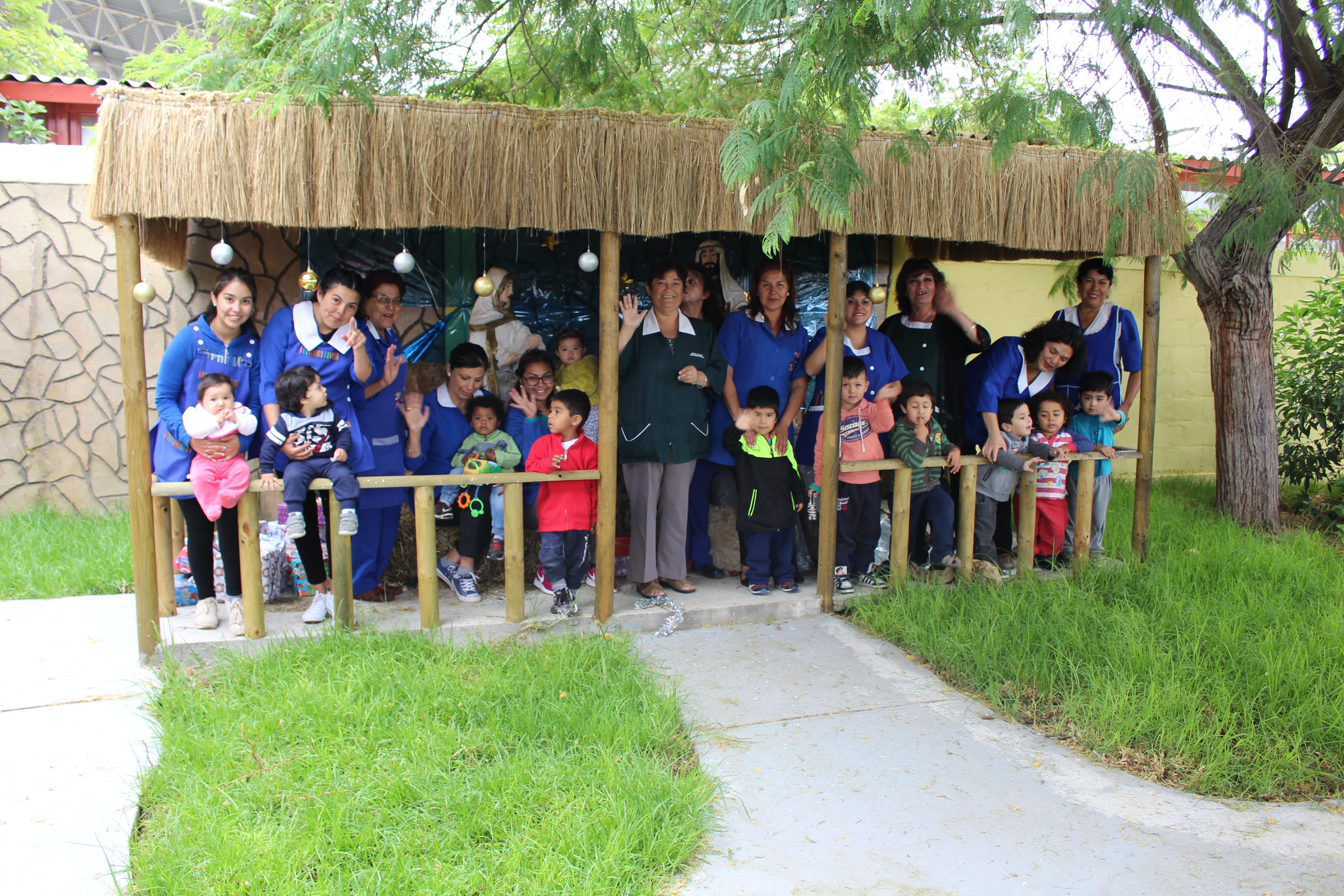 Jardín Infantil Rayito de Sol cuenta con nuevos espacios y áreas verdes