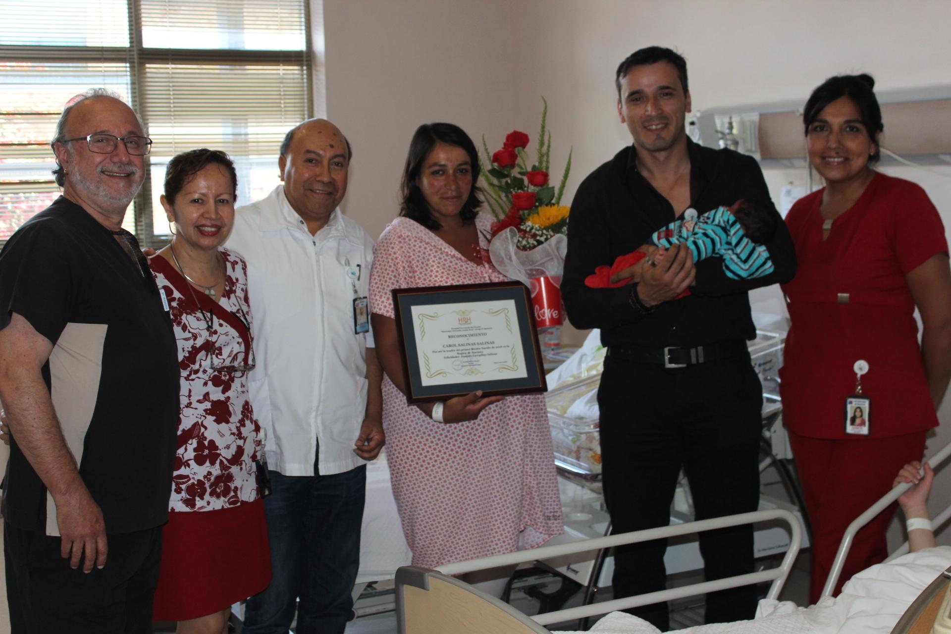Primer bebé de Atacama nació en el Hospital Provincial del Huasco