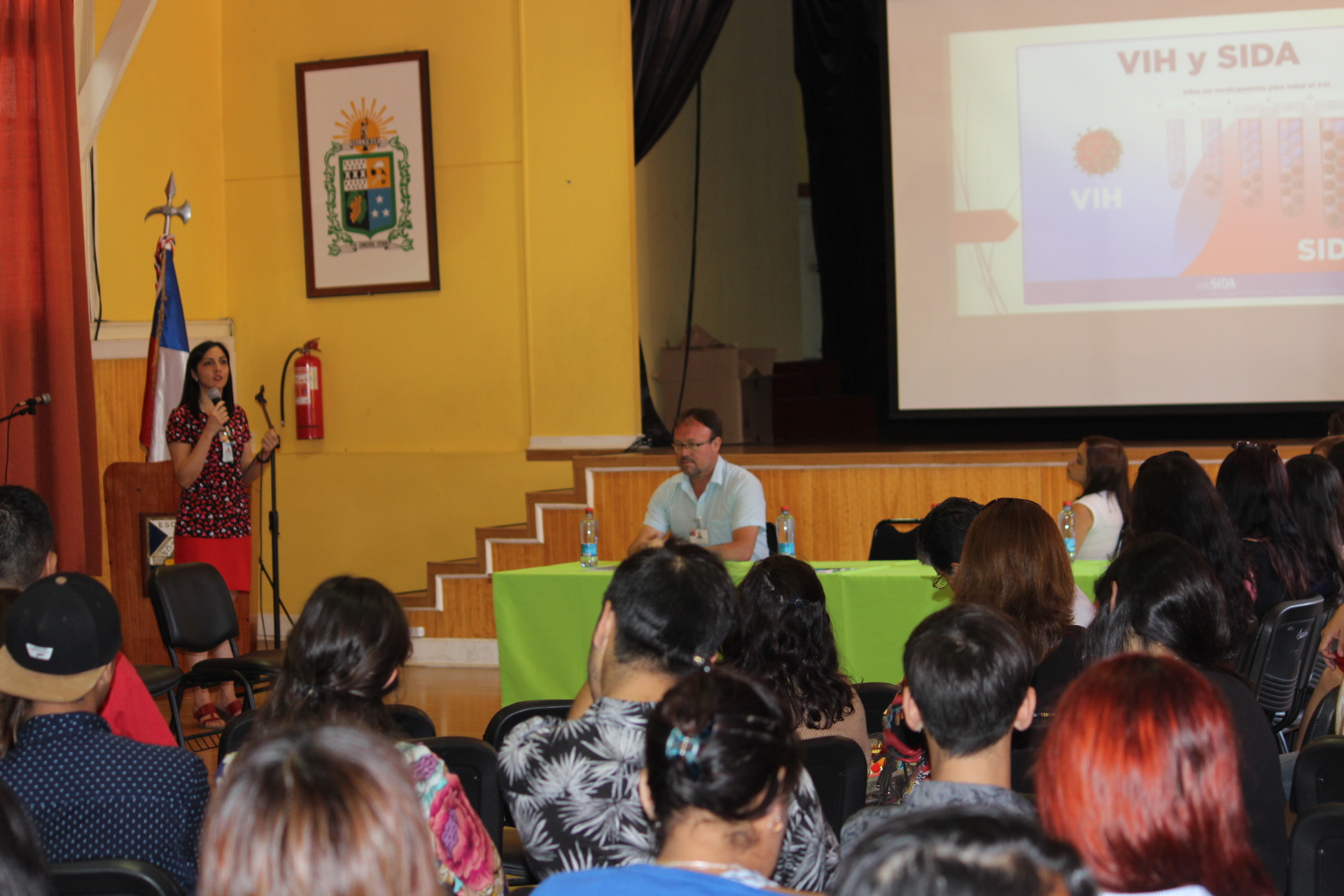 Gran convocatoria logró Primer Conversatorio sobre VIH-SIDA en la provincia del Huasco