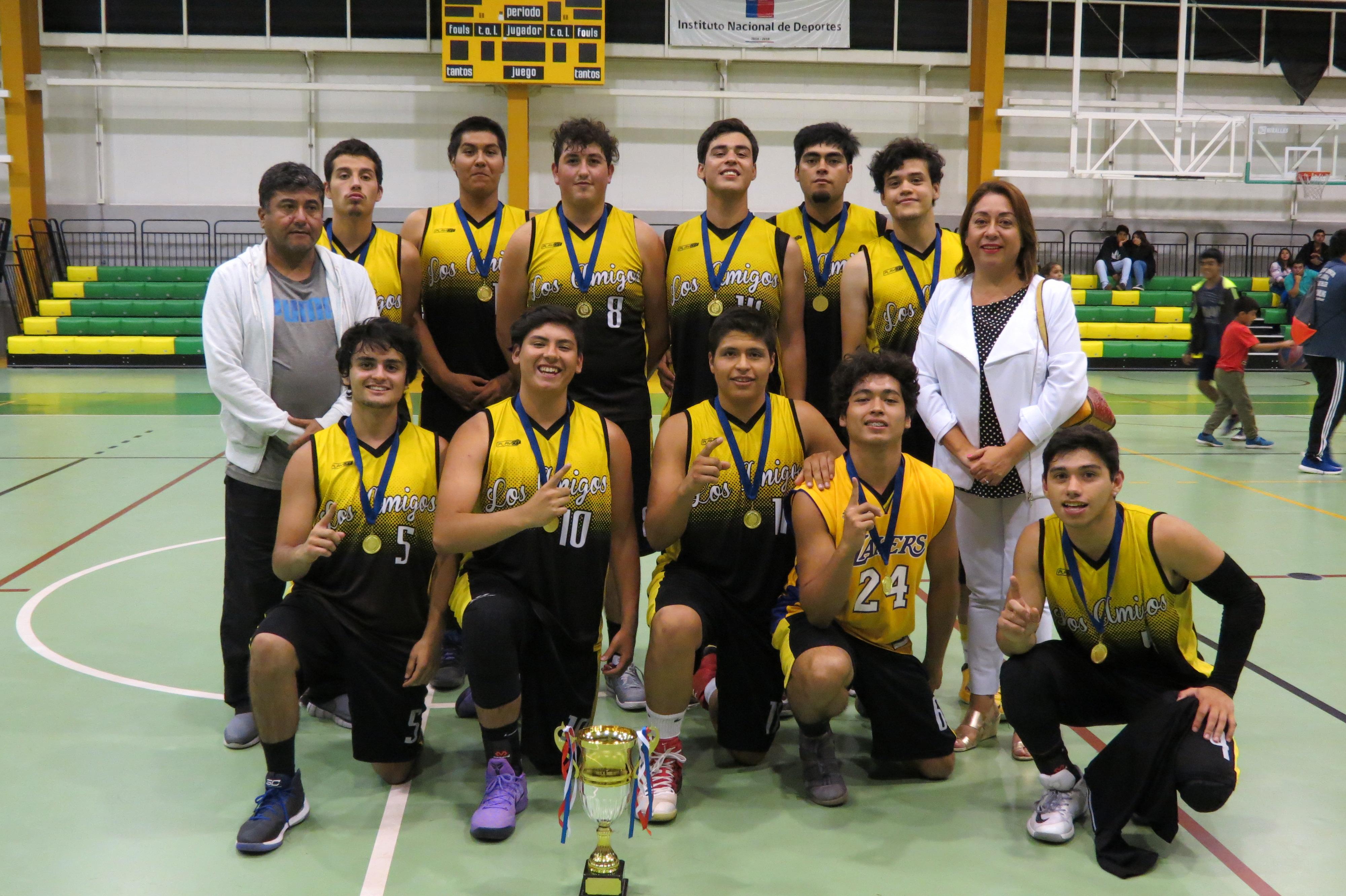Copiapó de coronó campeón del basquetbol en Vallenar