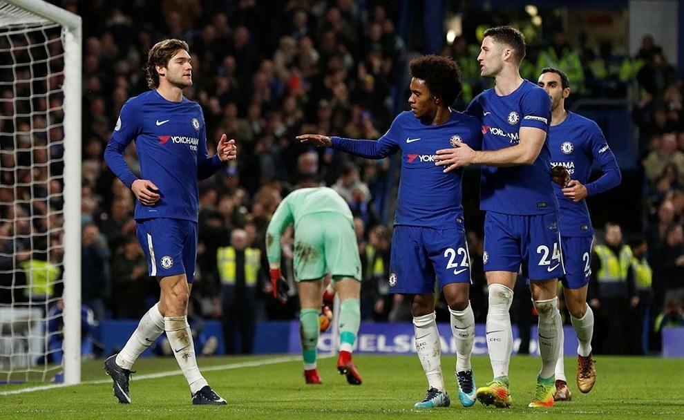 Gol de Penal del Chelsea