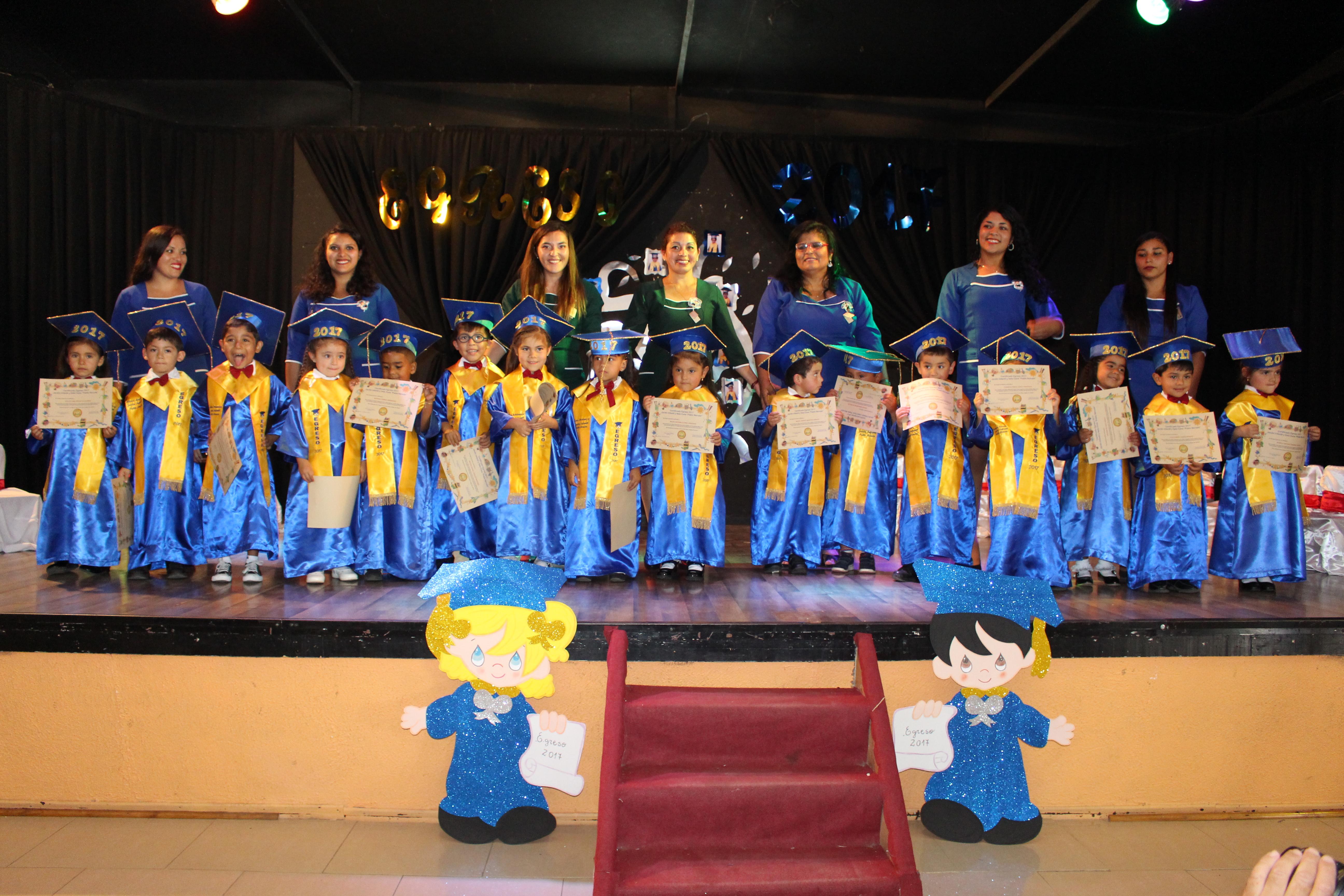 Jardines Infantiles VTF realizaron emotivas ceremonias de egreso en Vallenar