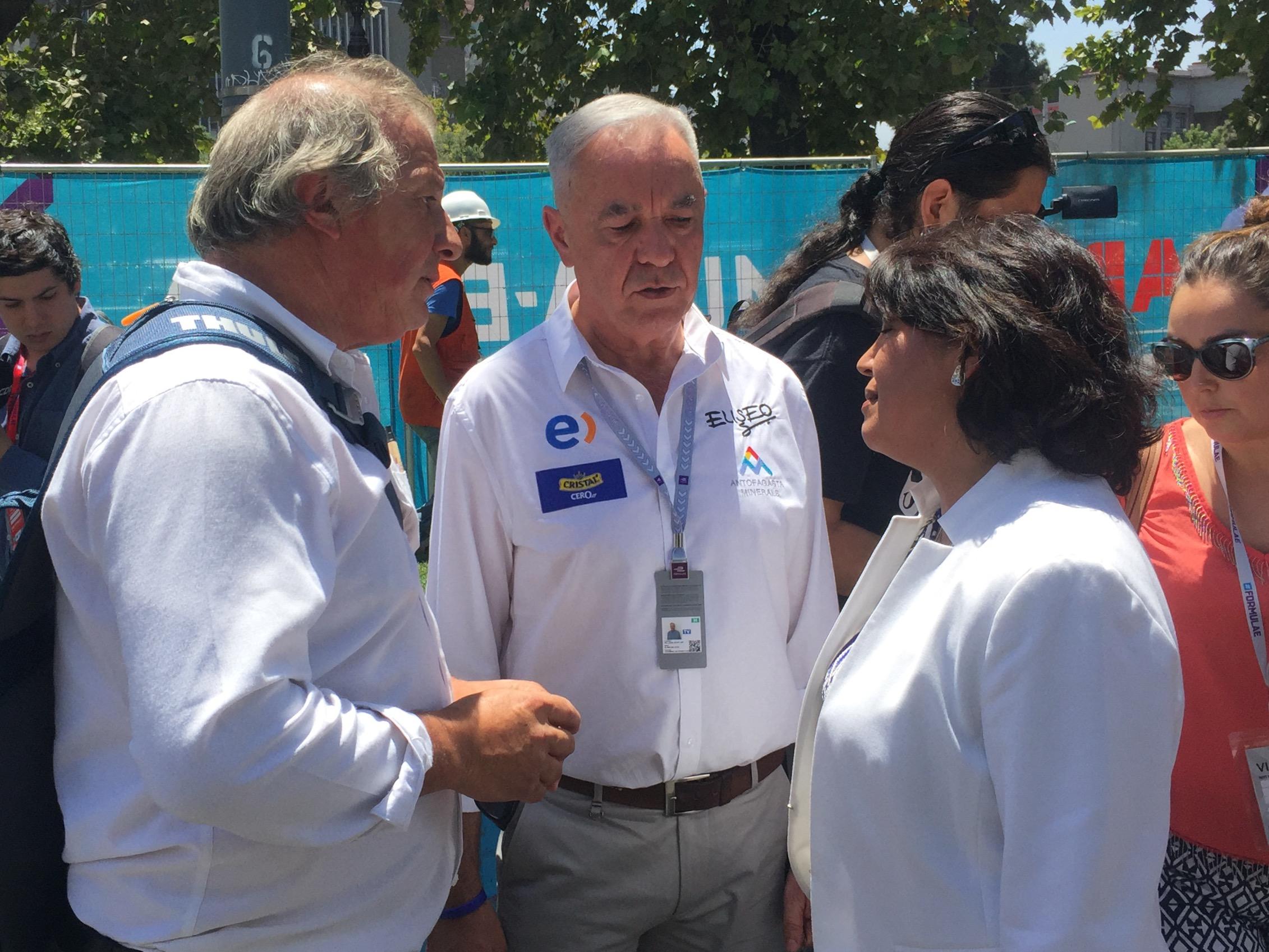 Senadora electa Yasna Provoste se reúne con organizadores de la Fórmula E en Chile y evalúan realizar corrida en Atacama