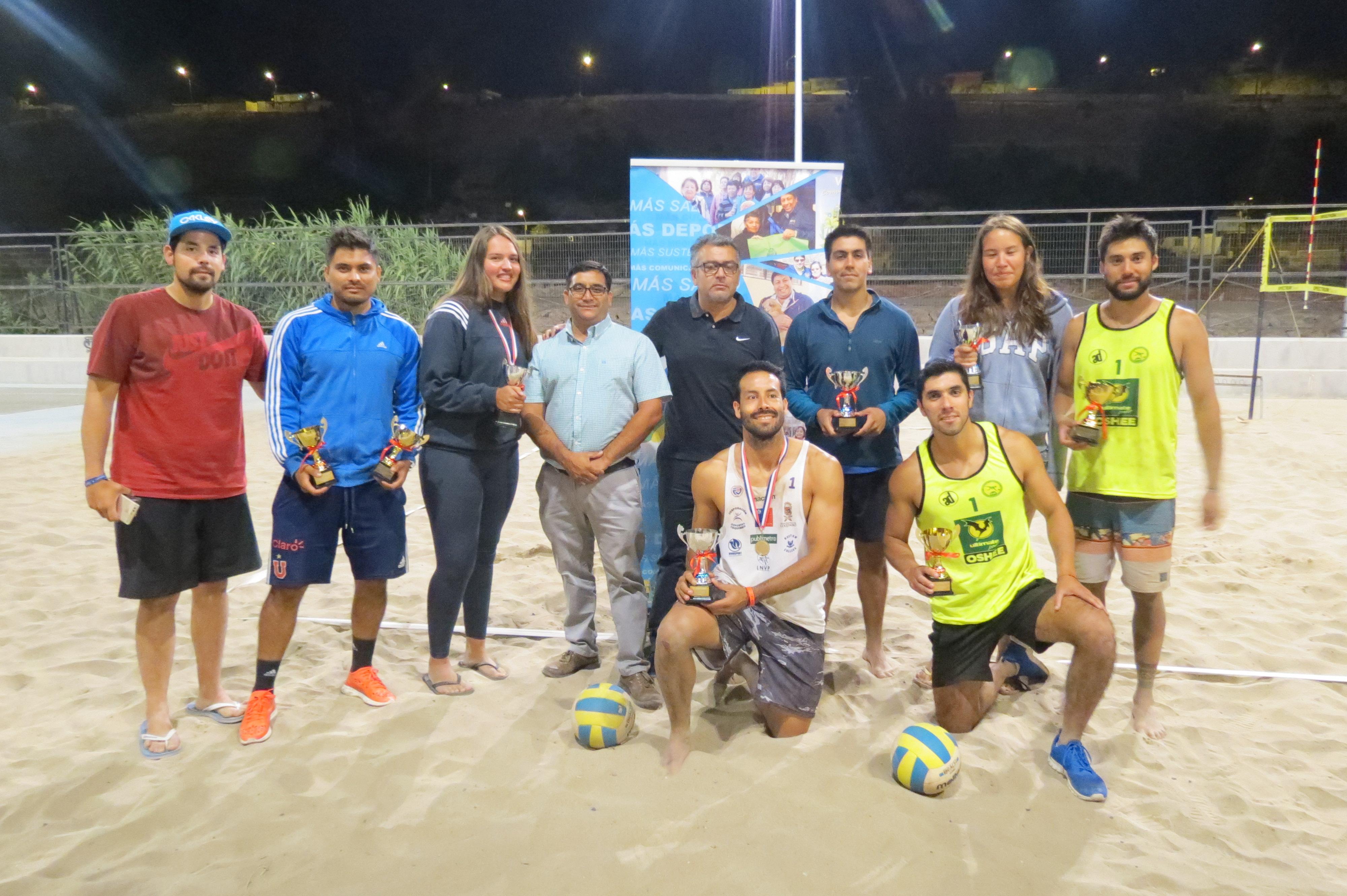 Vallenar se coronó campeón del voleibol duplas en el paseo ribereño