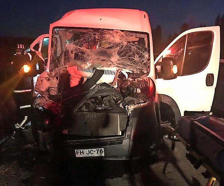 Integrantes de la Banda Tropikal de Vallenar resultaron con diversas lesiones tras colisión