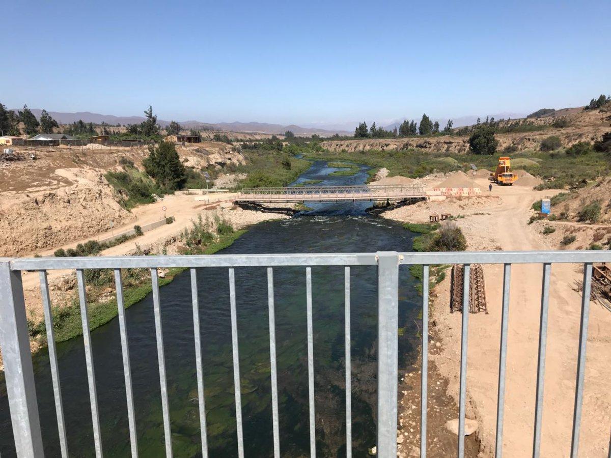 Alcalde de Freirina solicita a ministro Obras Públicas que puente mecano se quede en Freirina
