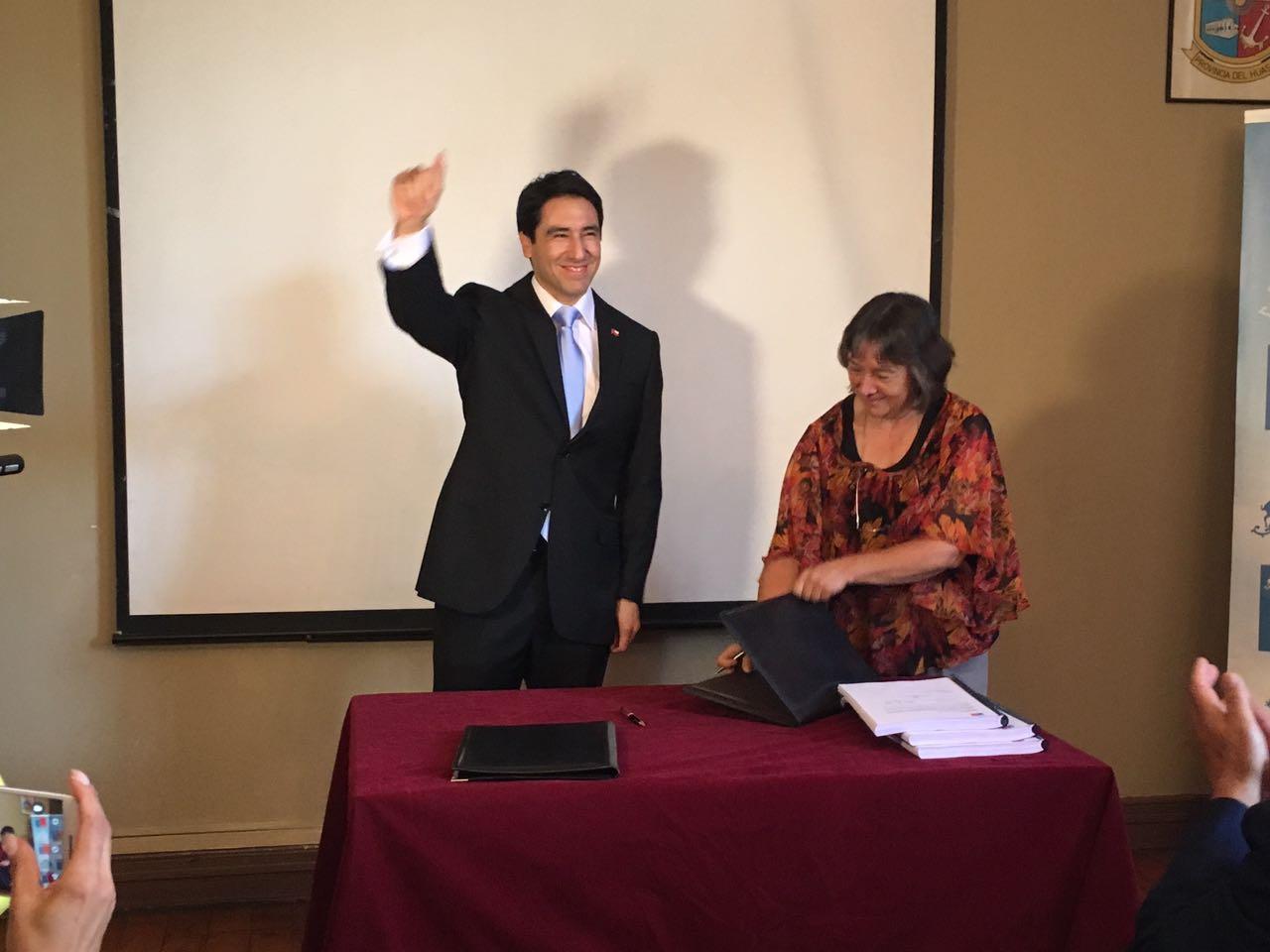 Patricio Urquieta sume con el nuevo gobernador del Huasco