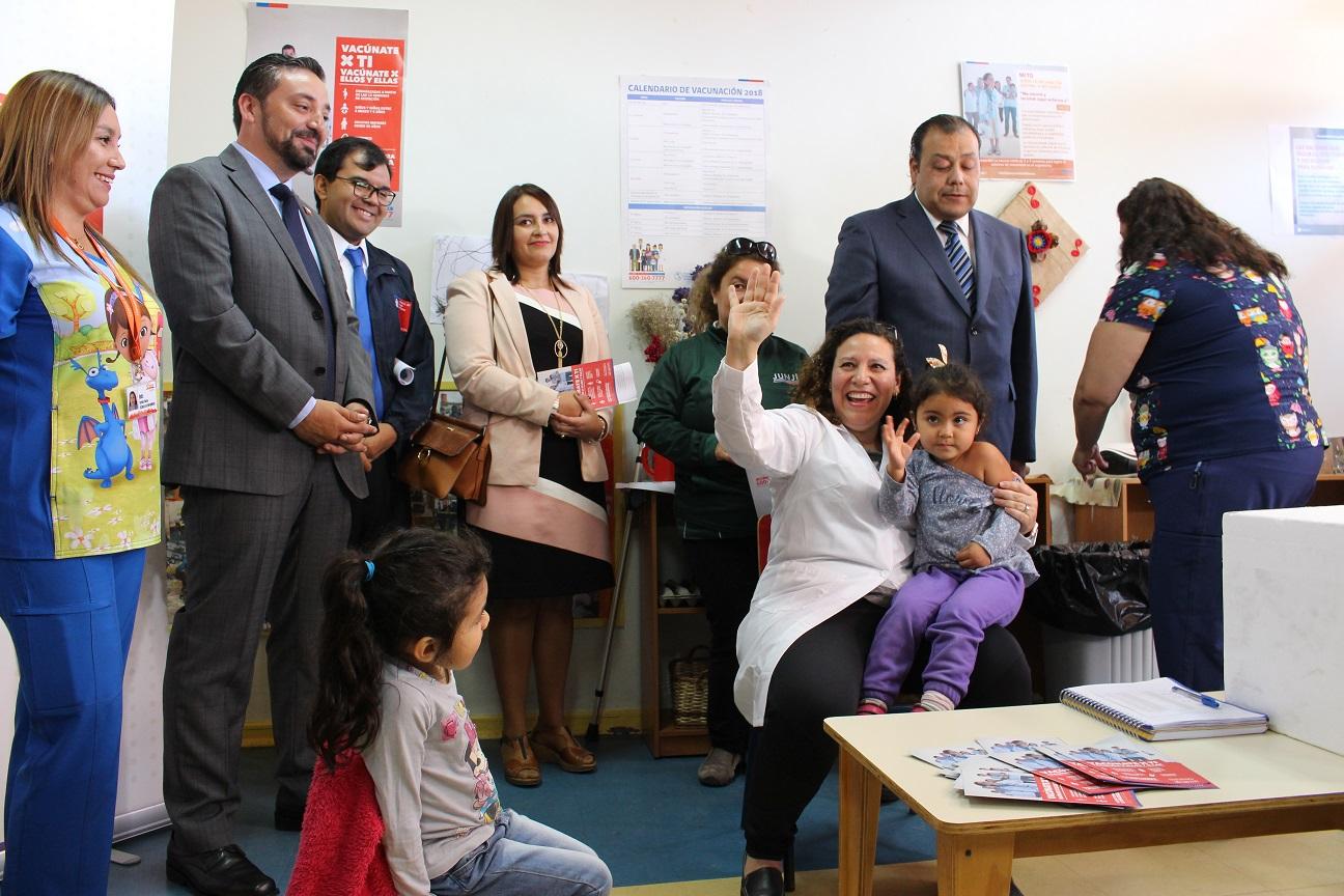 Autoridades regionales participaron en lanzamiento oficial de la Campaña de Vacunación contra la Influenza en Atacama