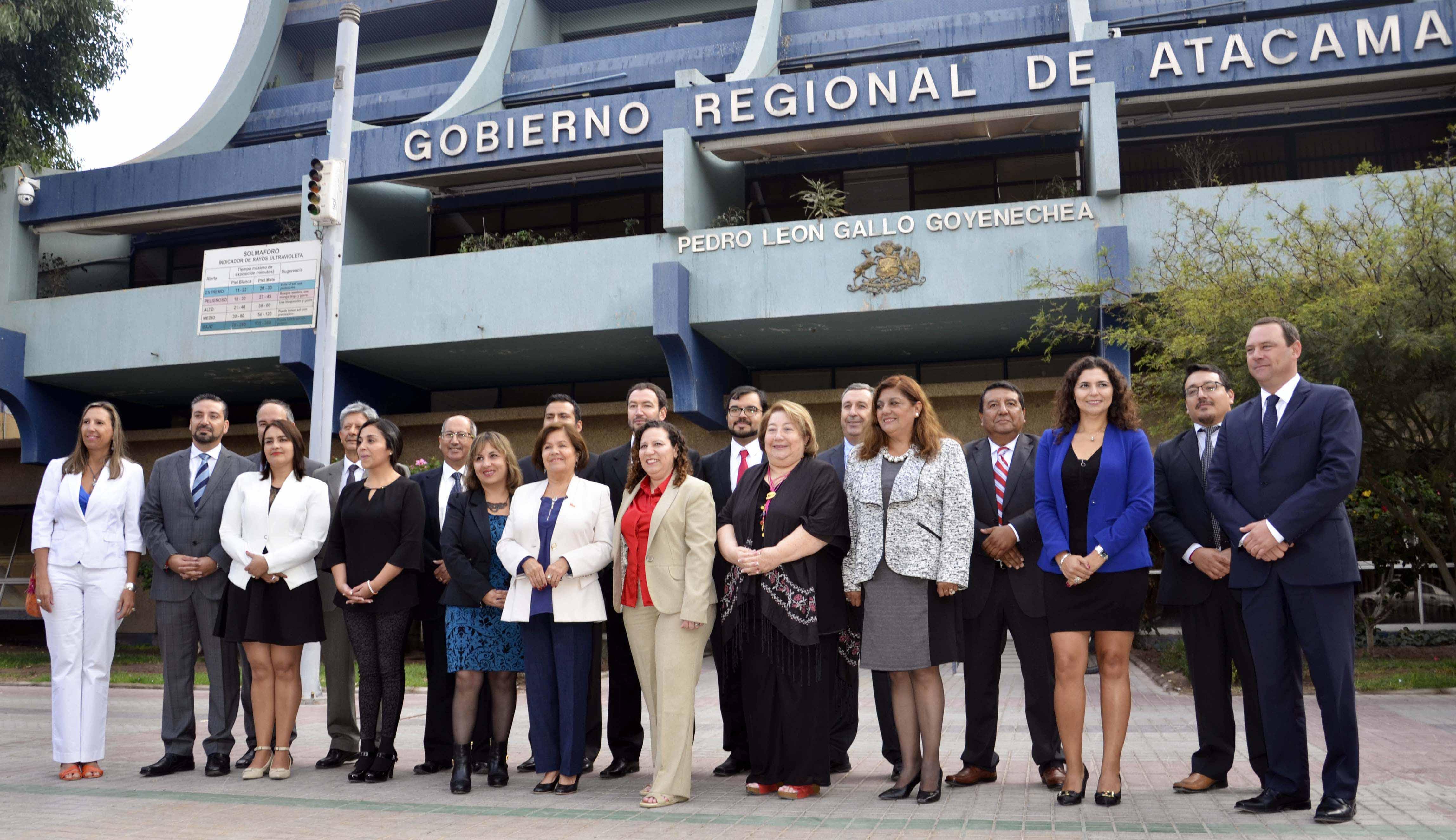 Gabinete Regional ya comienza a trabajar en Atacama