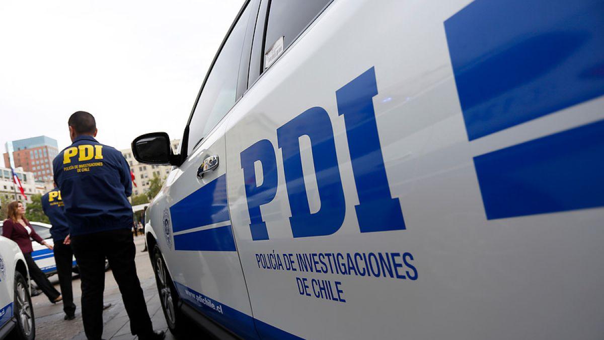 PDI detiene a sujeto por su autoría en el delito de robo con intimidación