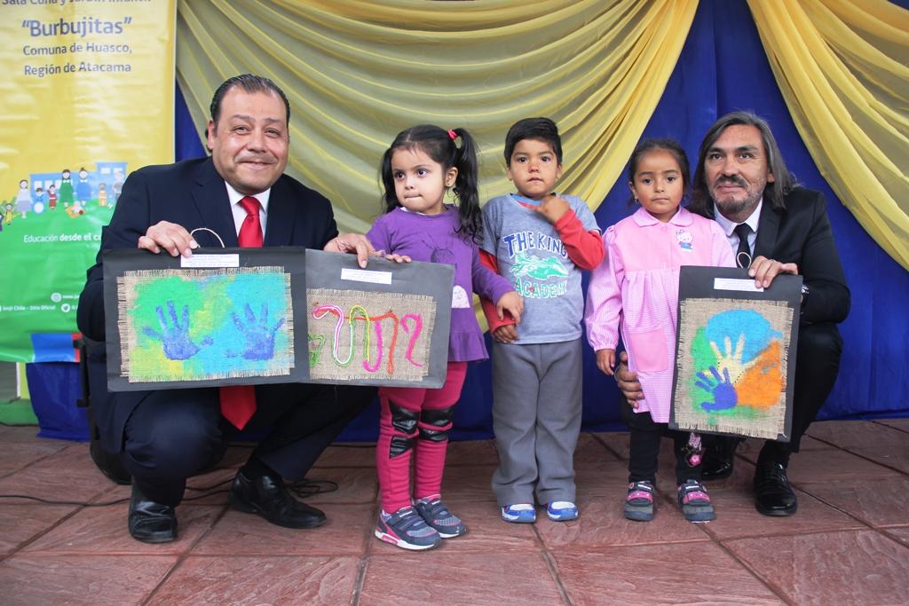 Junji Atacama recibe en comodato por 30 años los terrenos donde se ubican sus jardines infantiles en Huasco