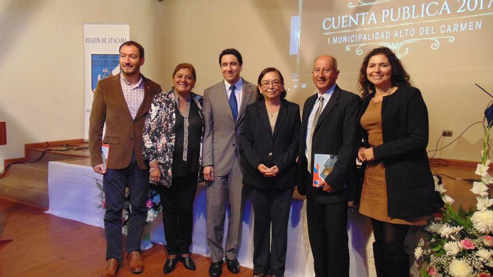 Alcaldesa de Alto del Carmen destaca avances de la comuna en cuenta pública