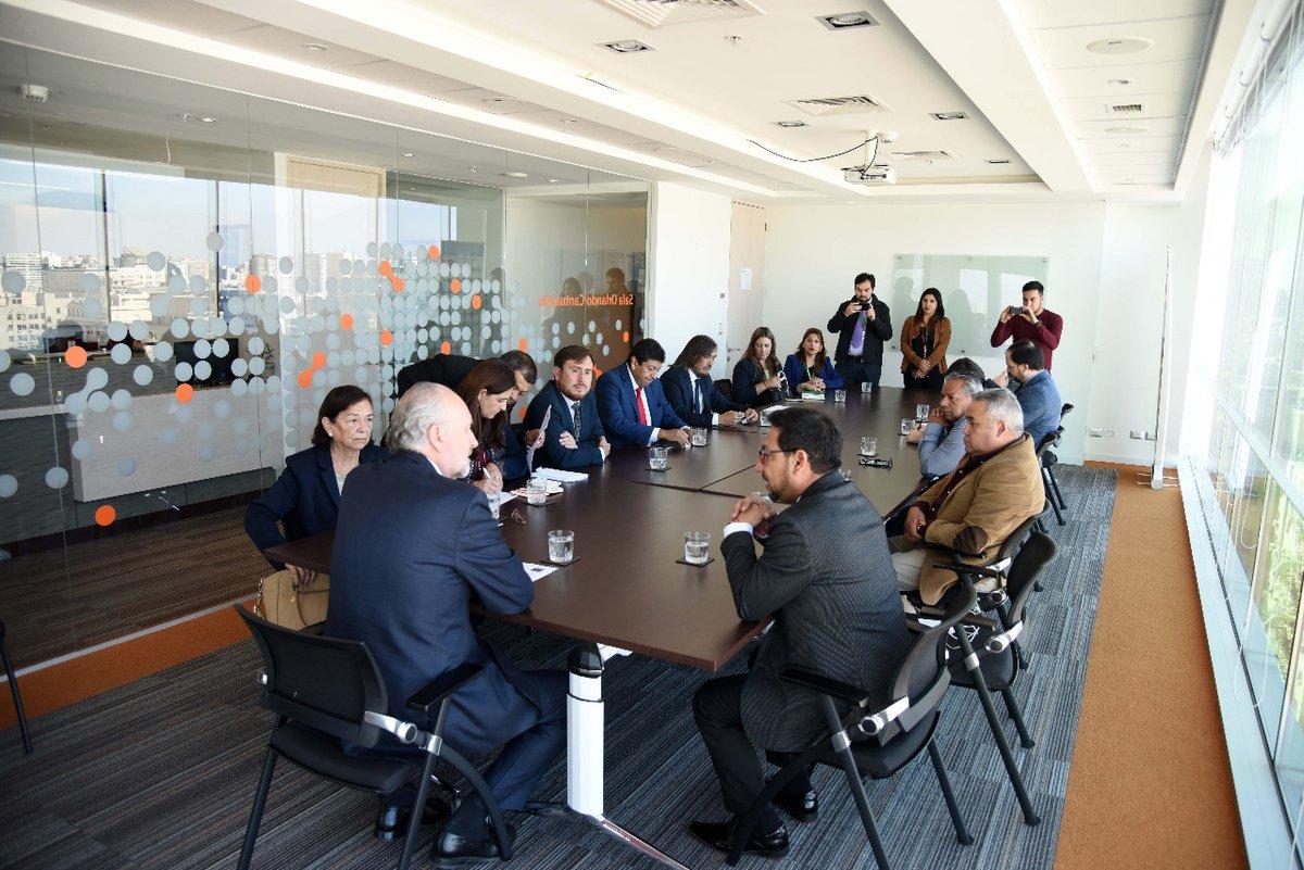 Ministro Prokurica se reunió con alcaldes de Atacama