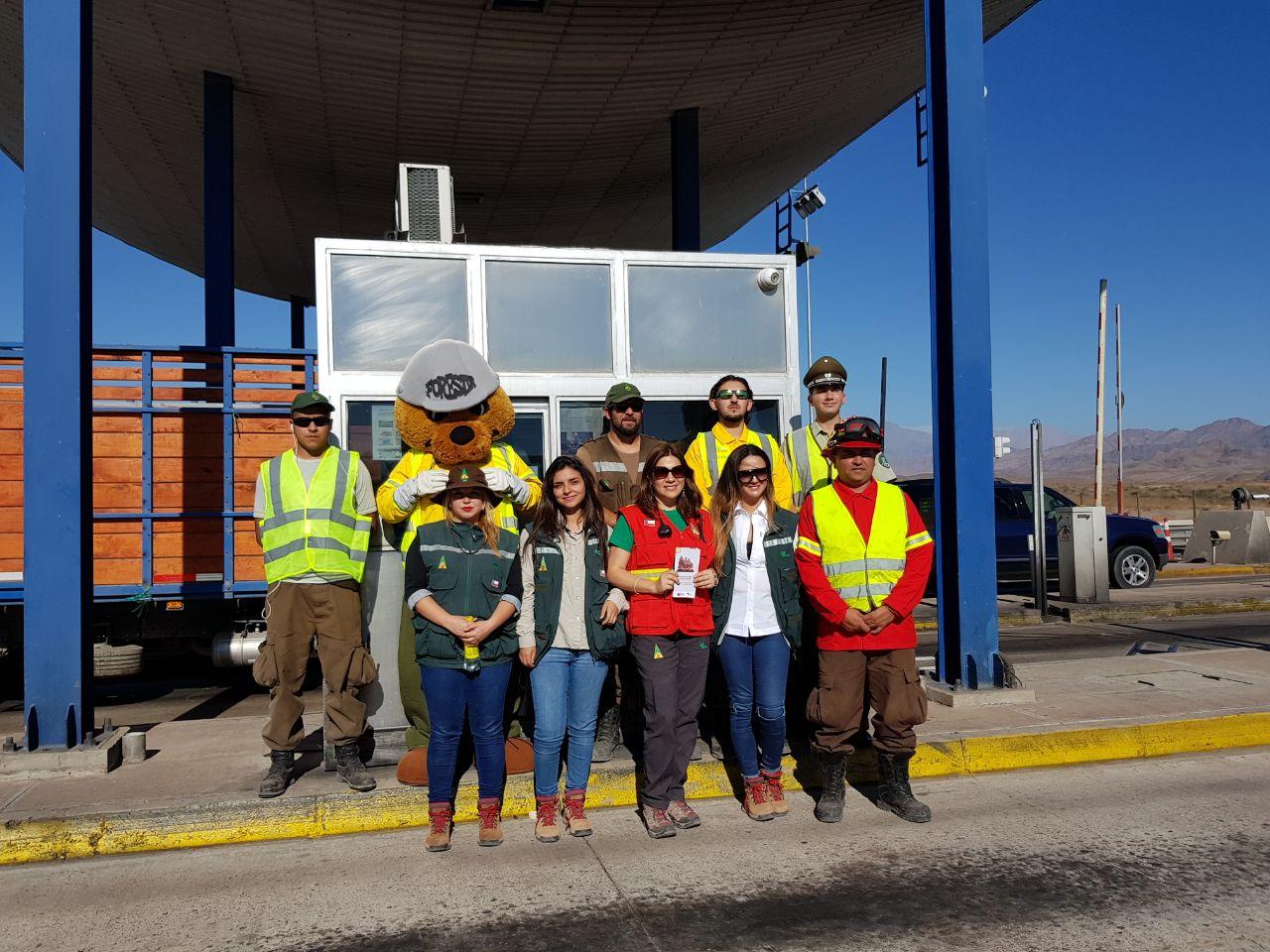 Conaf realiza operativo de prevención de incendios forestales en Atacama
