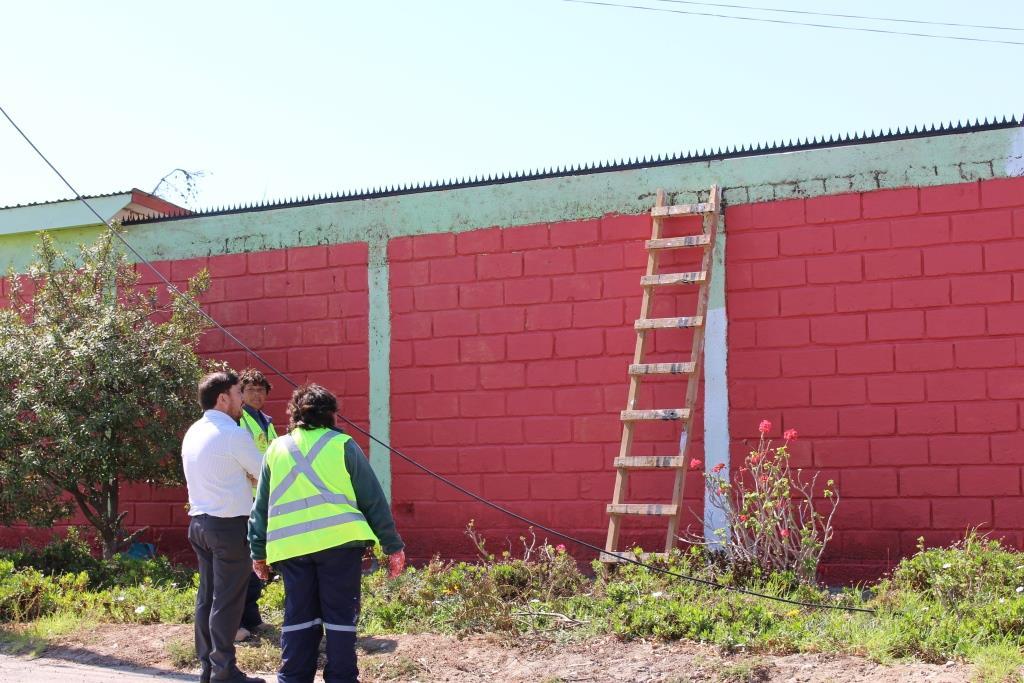 Alcalde Orellana  y equipo municipal realiza visita inspectiva a obras de mejoramiento en la comuna de Freirina