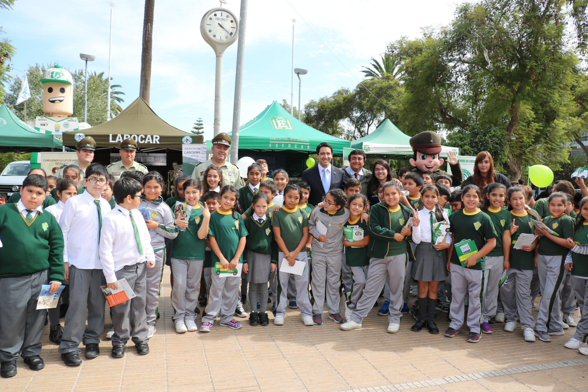 Gobernador del Huasco manifestó respaldo a trabajo de Carabineros en la zona