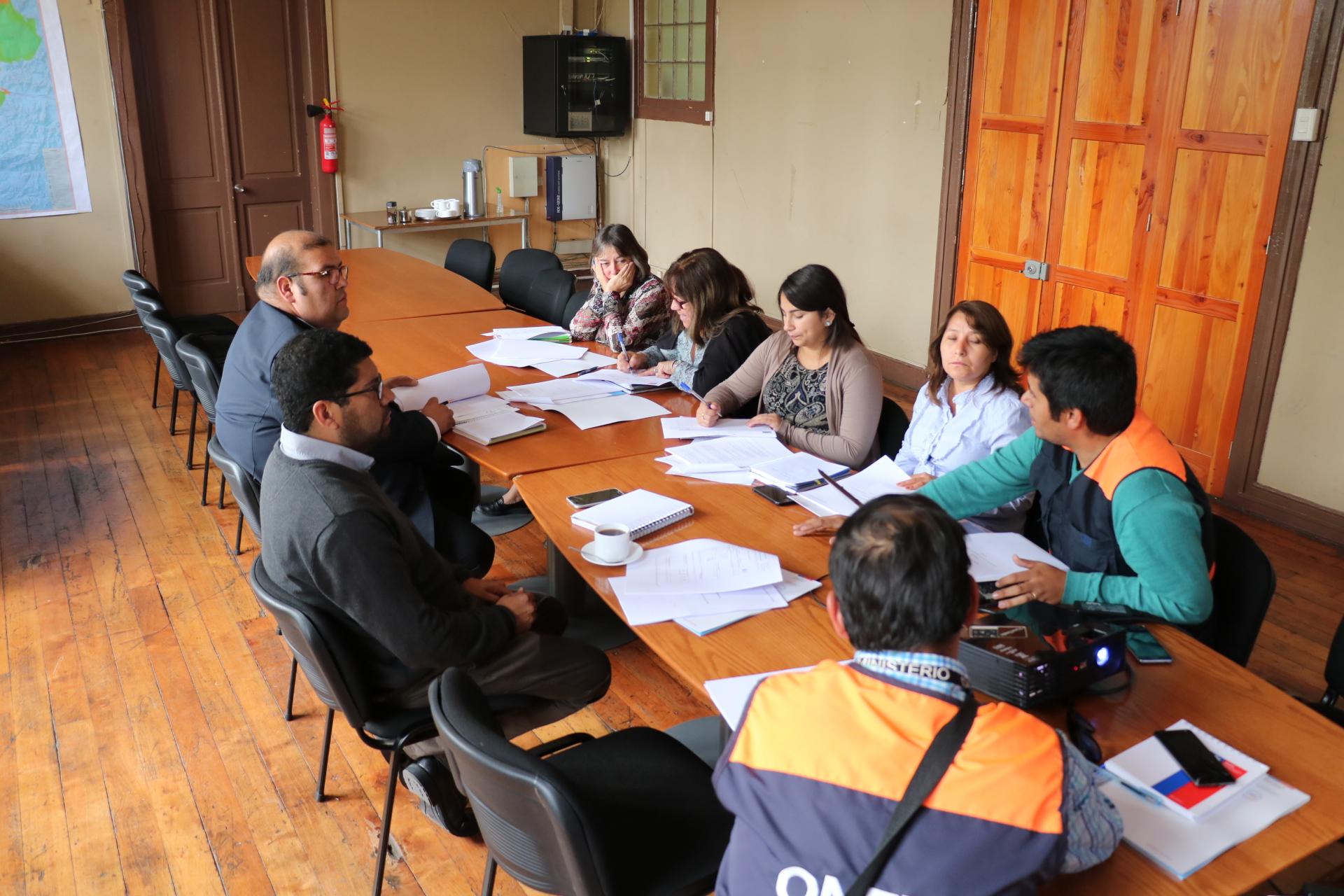 """Gobernador del Huasco: """"Tenemos que estar preparados y optimizar los recursos para responder de manera eficiente ante una eventual emergencia"""""""