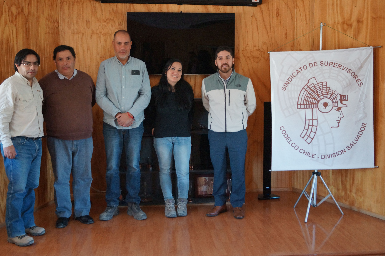 Diputado Santana se juntó con dirigentes de Codelco buscando mejores condiciones laborales