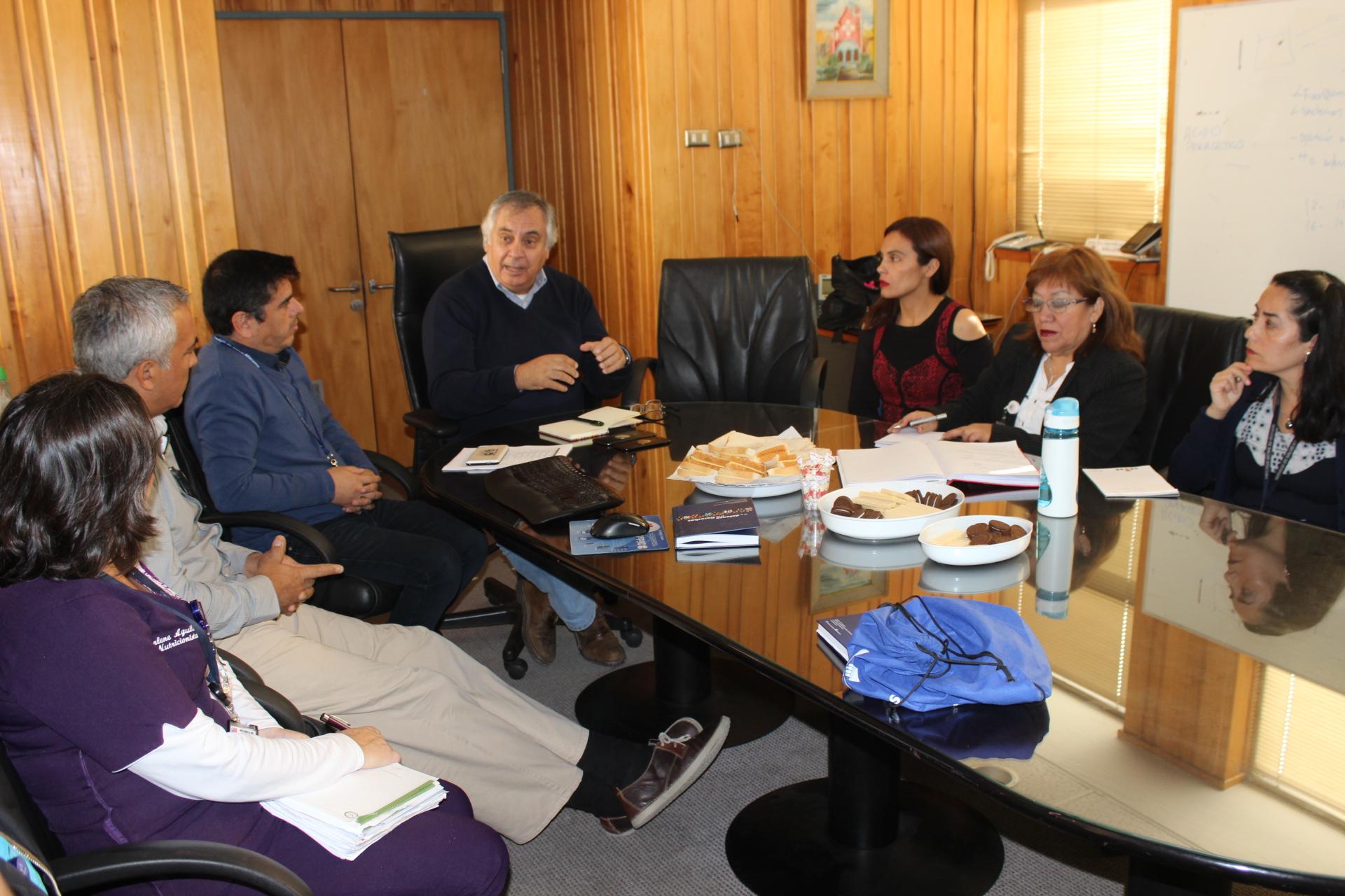 Gremios de la Salud del HPH se reúnen con Senador Prohens por proyecto de sala cuna y jardín infantil para hospital