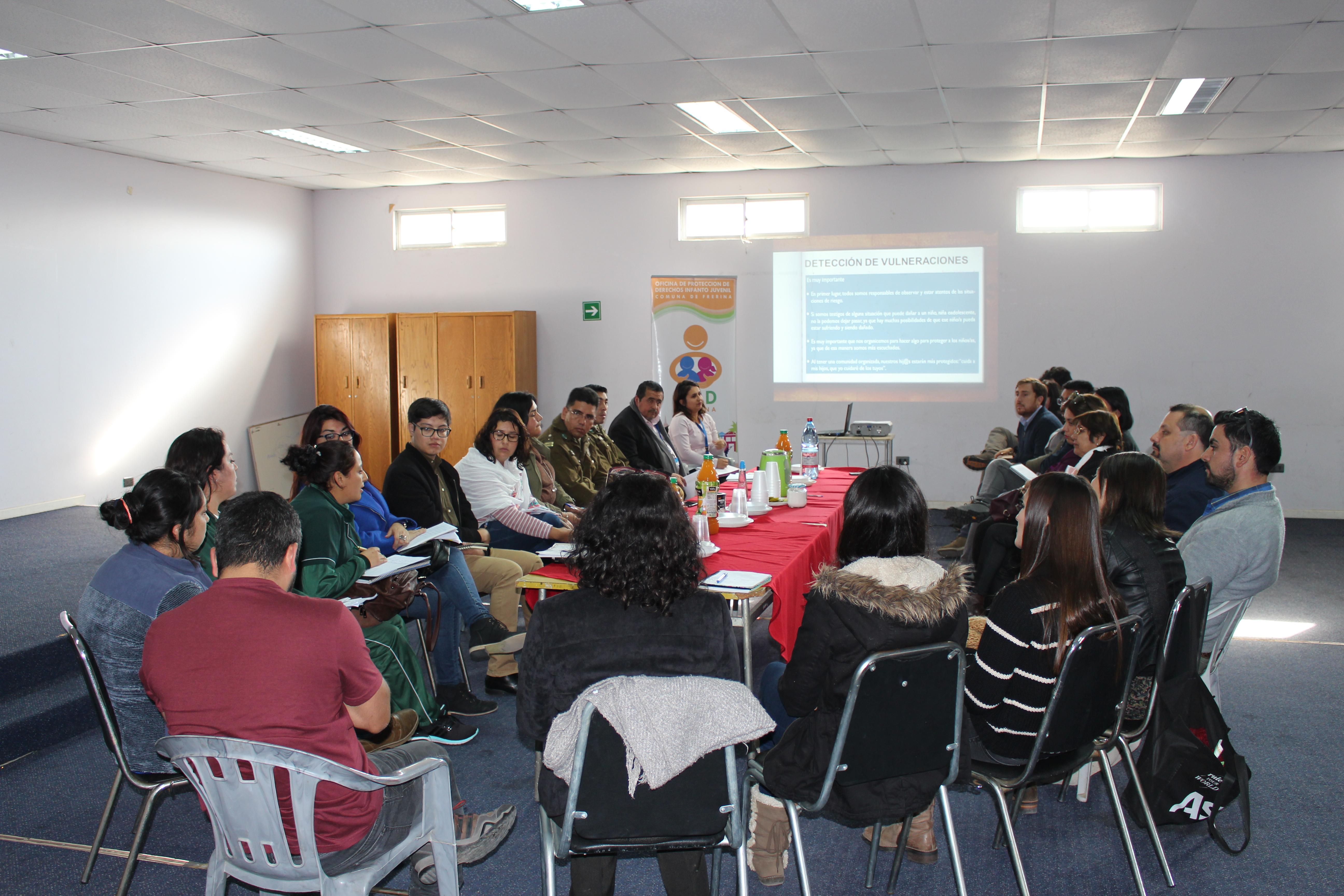 En Freirina se firma protocolo de protección para resguardar los derechos en temáticas de infancia