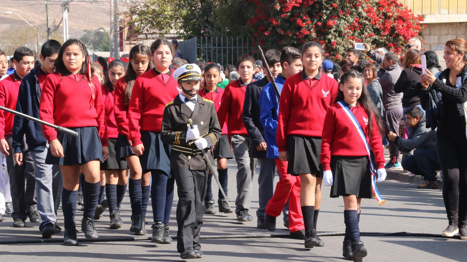 Vallenar: Escuelas inician actos en homenaje a las Glorias Navales