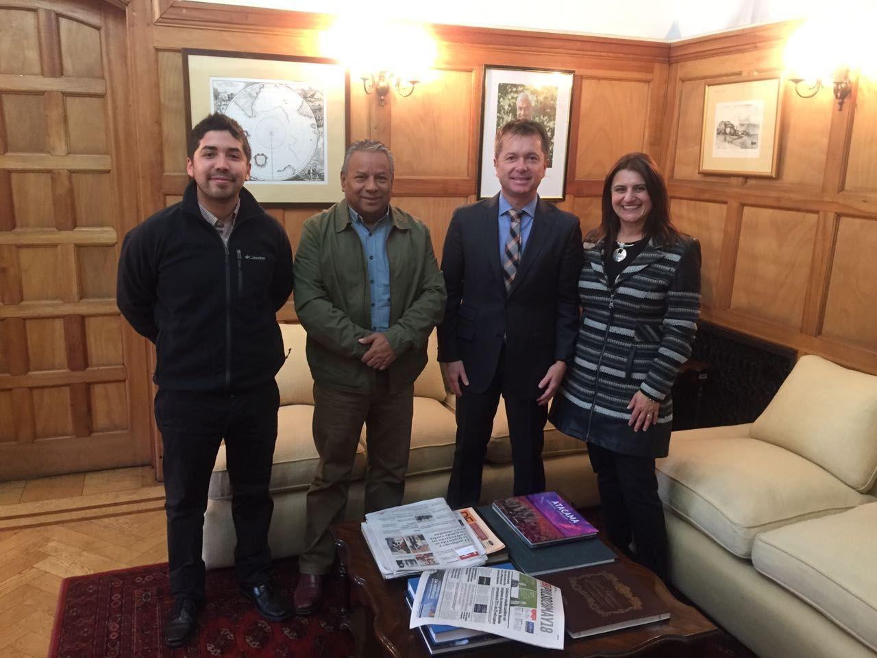 Diputados Cid y  Santana se reúnen con subsecretario de Desarrollo Regional por reconstrucción tras el aluvión del 2015 en Atacama