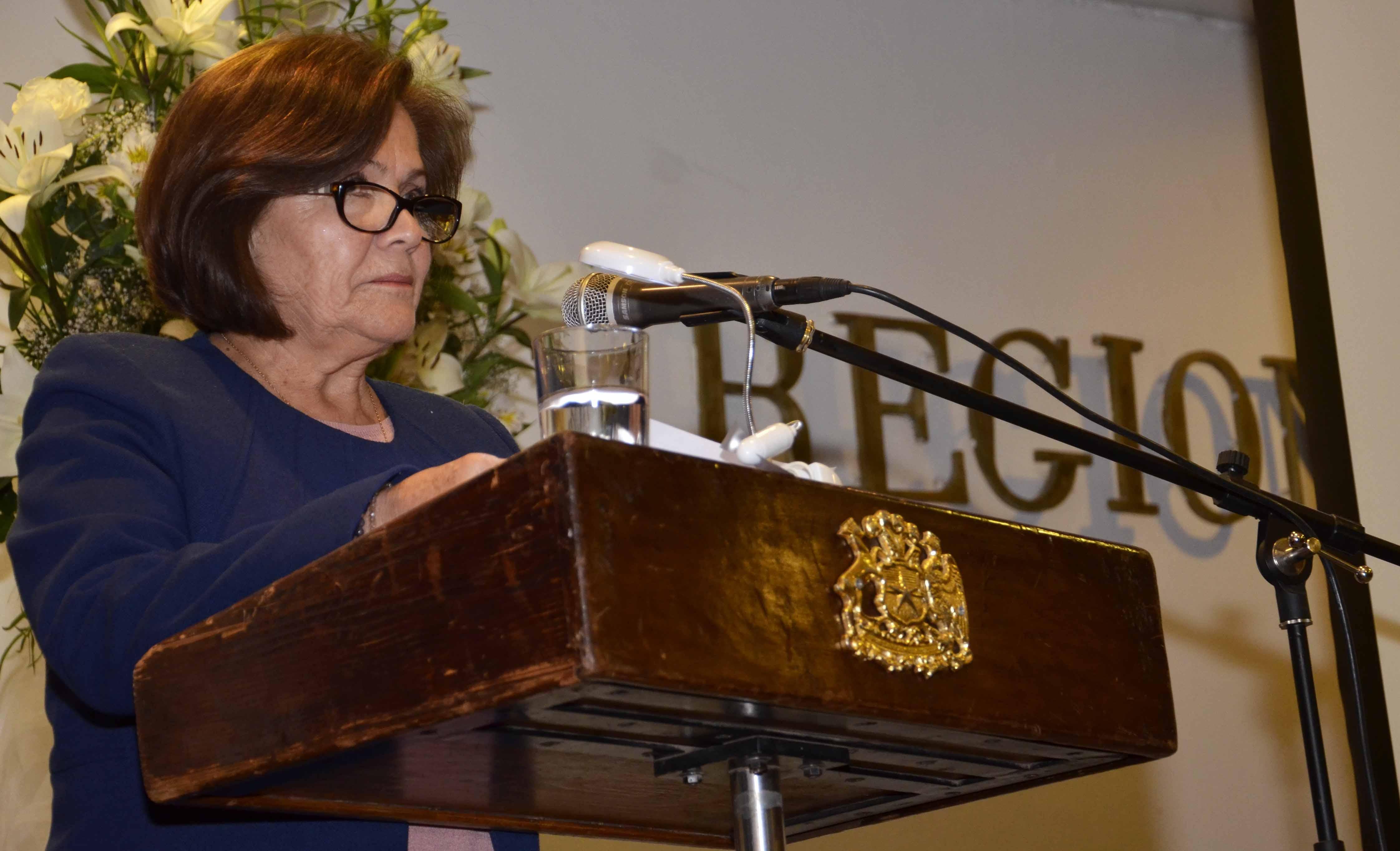 Intendenta Berta Torres entrega su primera Cuenta Pública Participativa