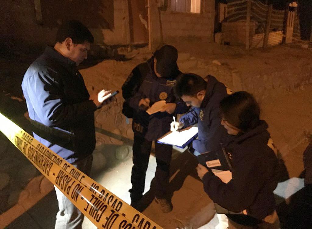 Fiscalía dirige investigación por delito de homicidio ocurrido en la vía pública en Vallenar