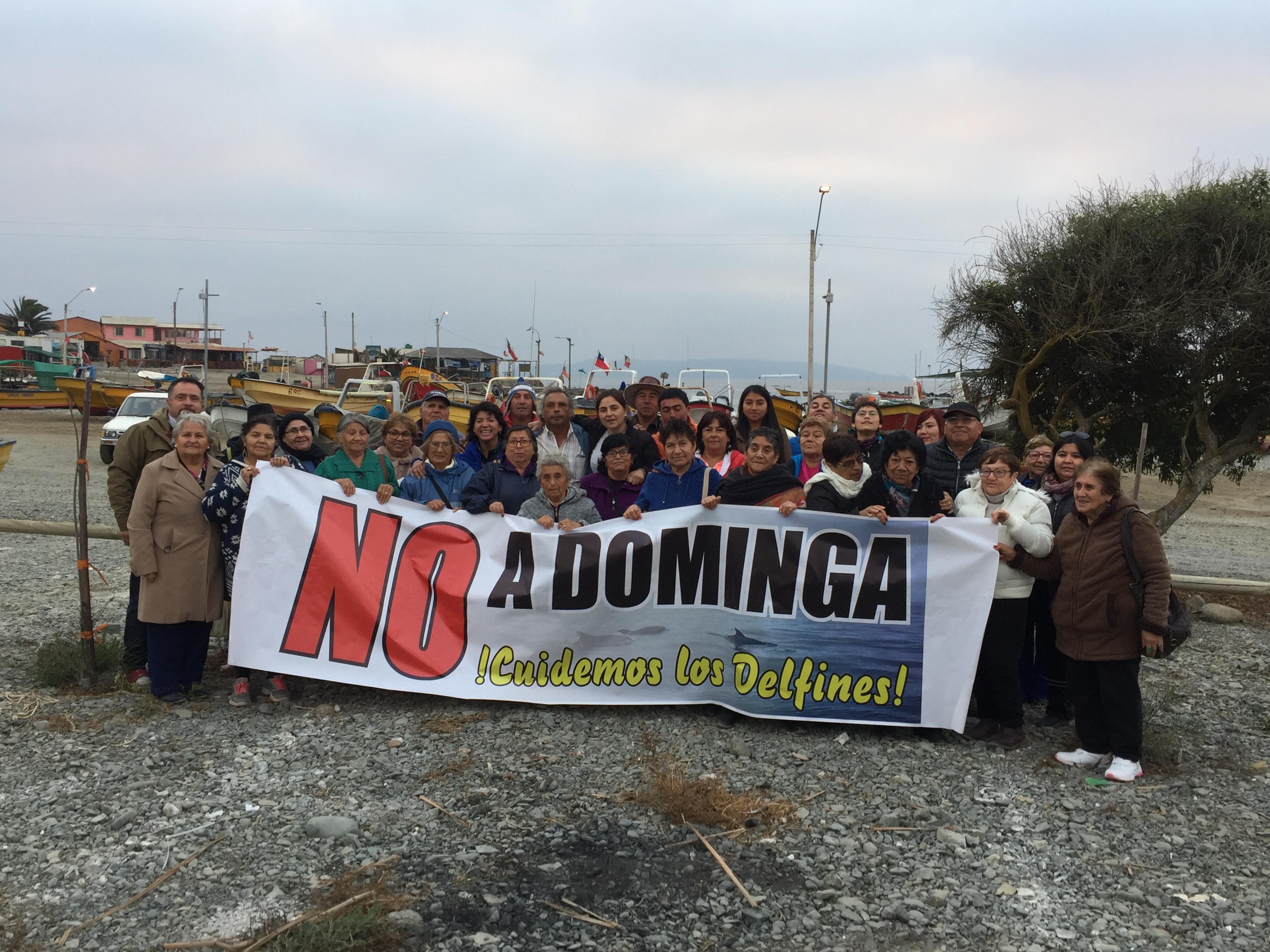 """Provoste y comunidades de Chañaral de Aceituno manifiestan su rechazo a """"Dominga"""""""