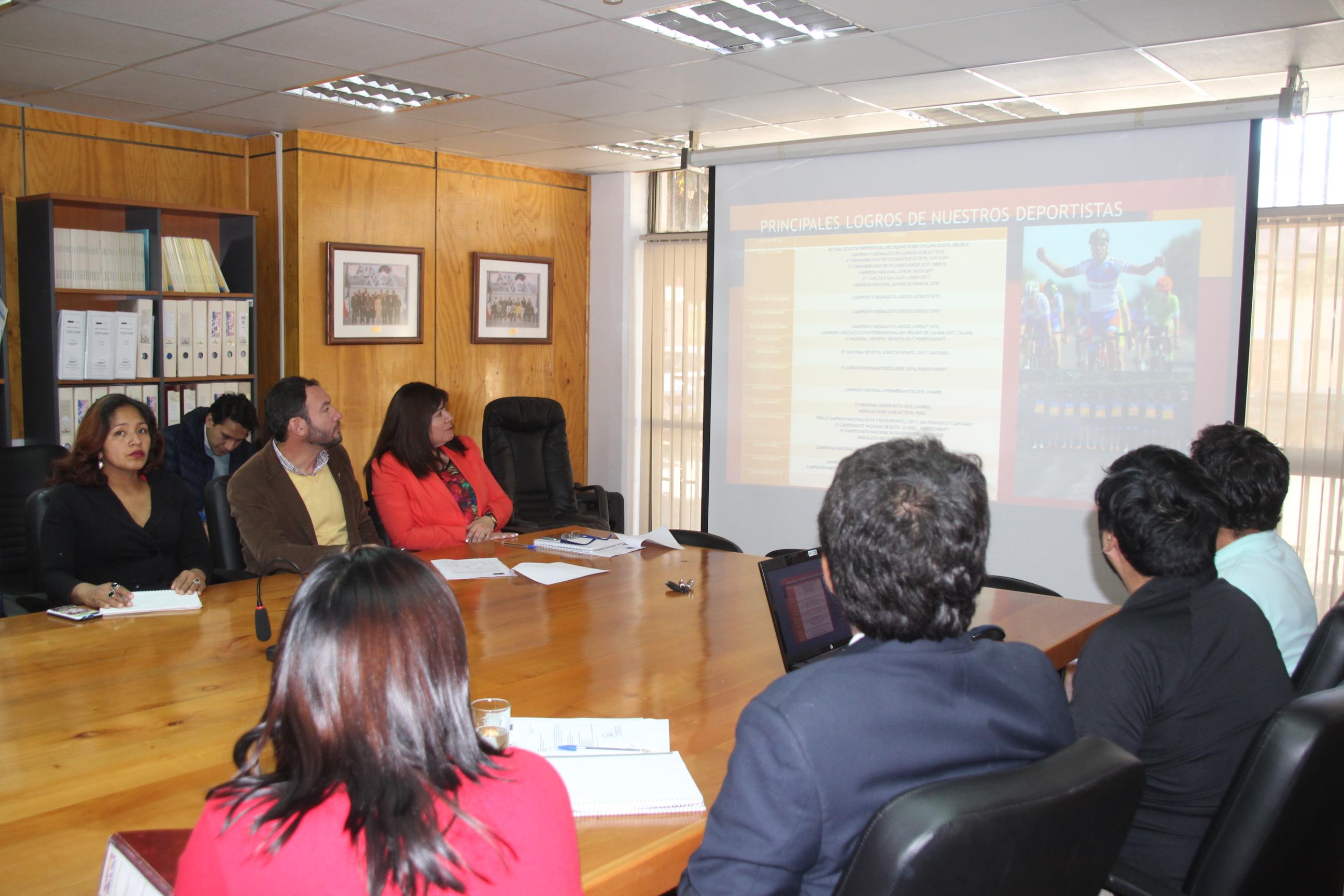 Seremi del deporte  da a conocer proyectos a consejeros regionales