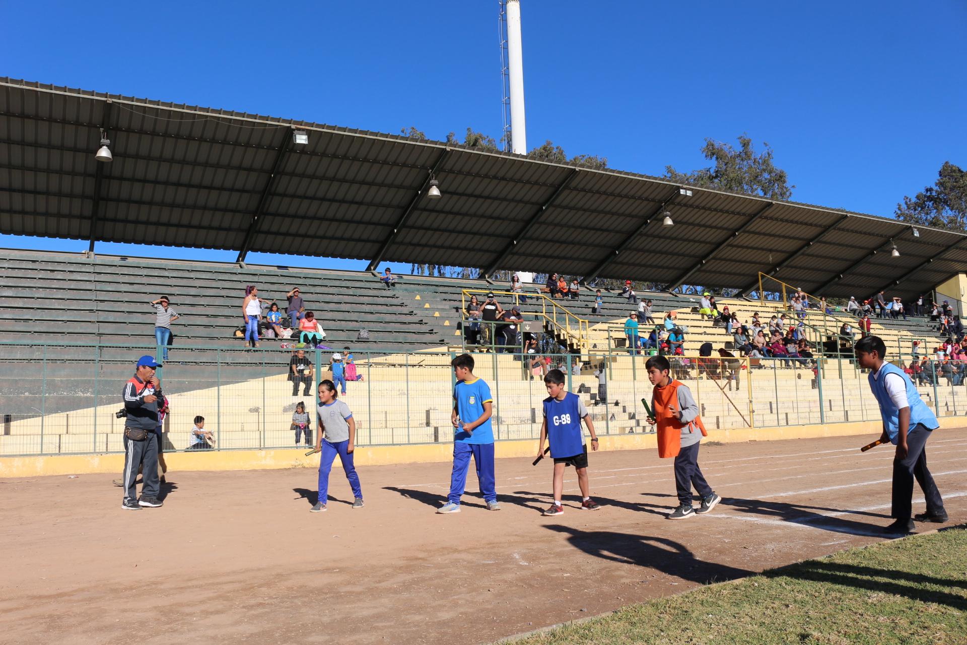 Realizan Olimpiadas Rurales en Vallenar