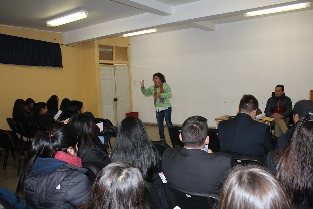 Centros de alumnos se informan sobre la puesta en marcha del Servicio Local de Educación Pública de Huasco