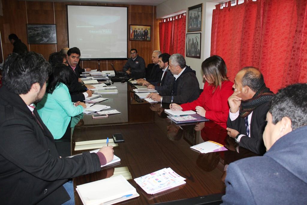 Servicio Local de Educación Pública de Huasco expone ante Comisión de Educación y Cultura del CORE de Atacama