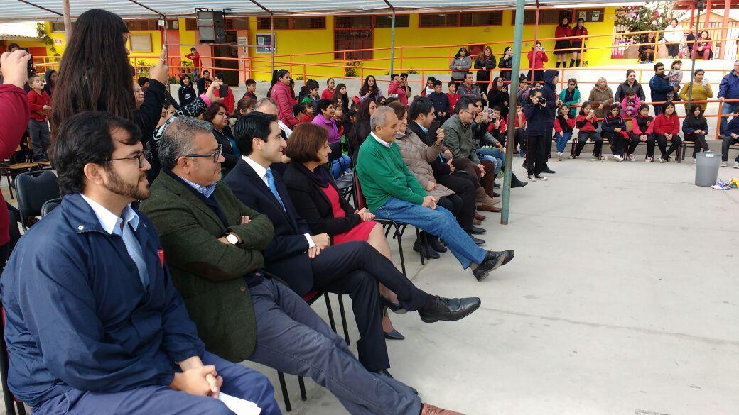 Lanzamiento proyecto FPA marca inicio mes de medio ambiente en Vallenar