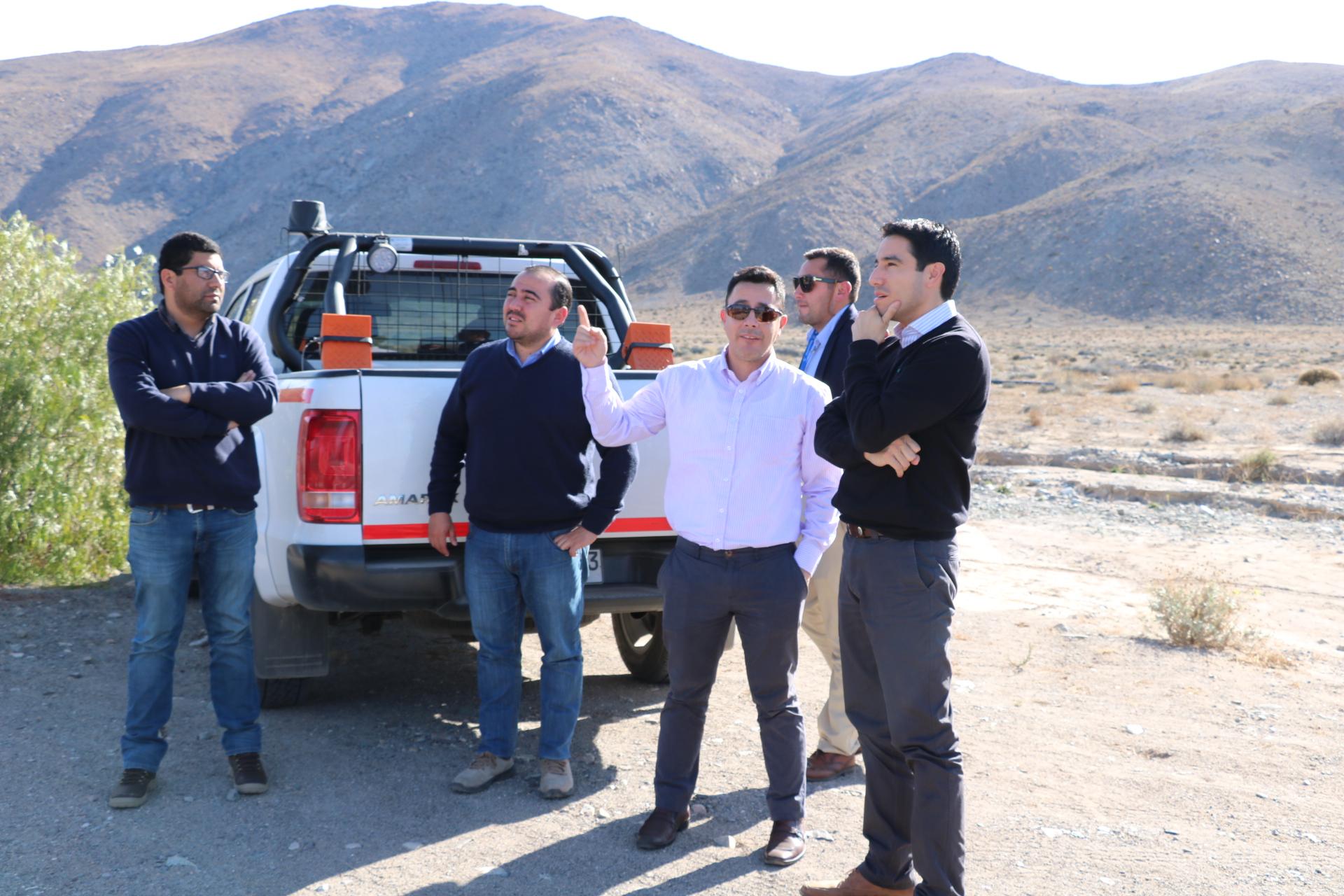 Realizan estudios para solución definitiva de abastecimiento de agua potable en Domeyko