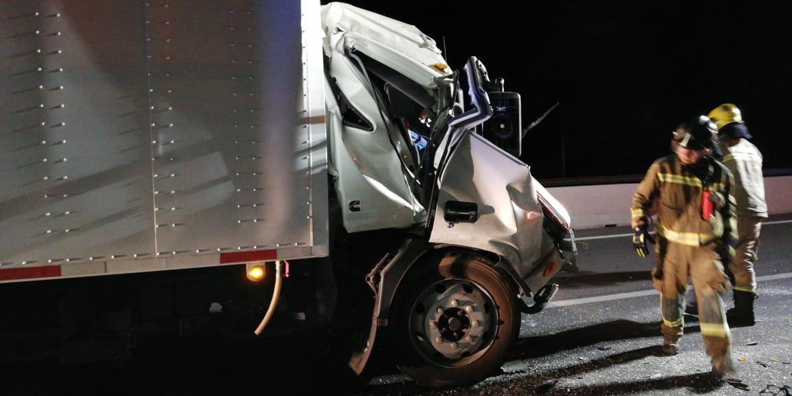 Accidente carretero deja dos lesionados al norte de Vallenar