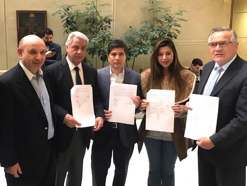 Cicardini presenta 3 proyectos en seguridad pública junto a bancada PS