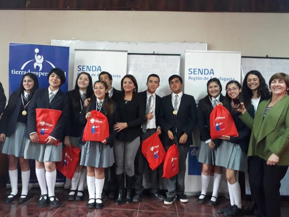 Atacama triunfa en el torneo zonal de debates estudiantiles de Senda
