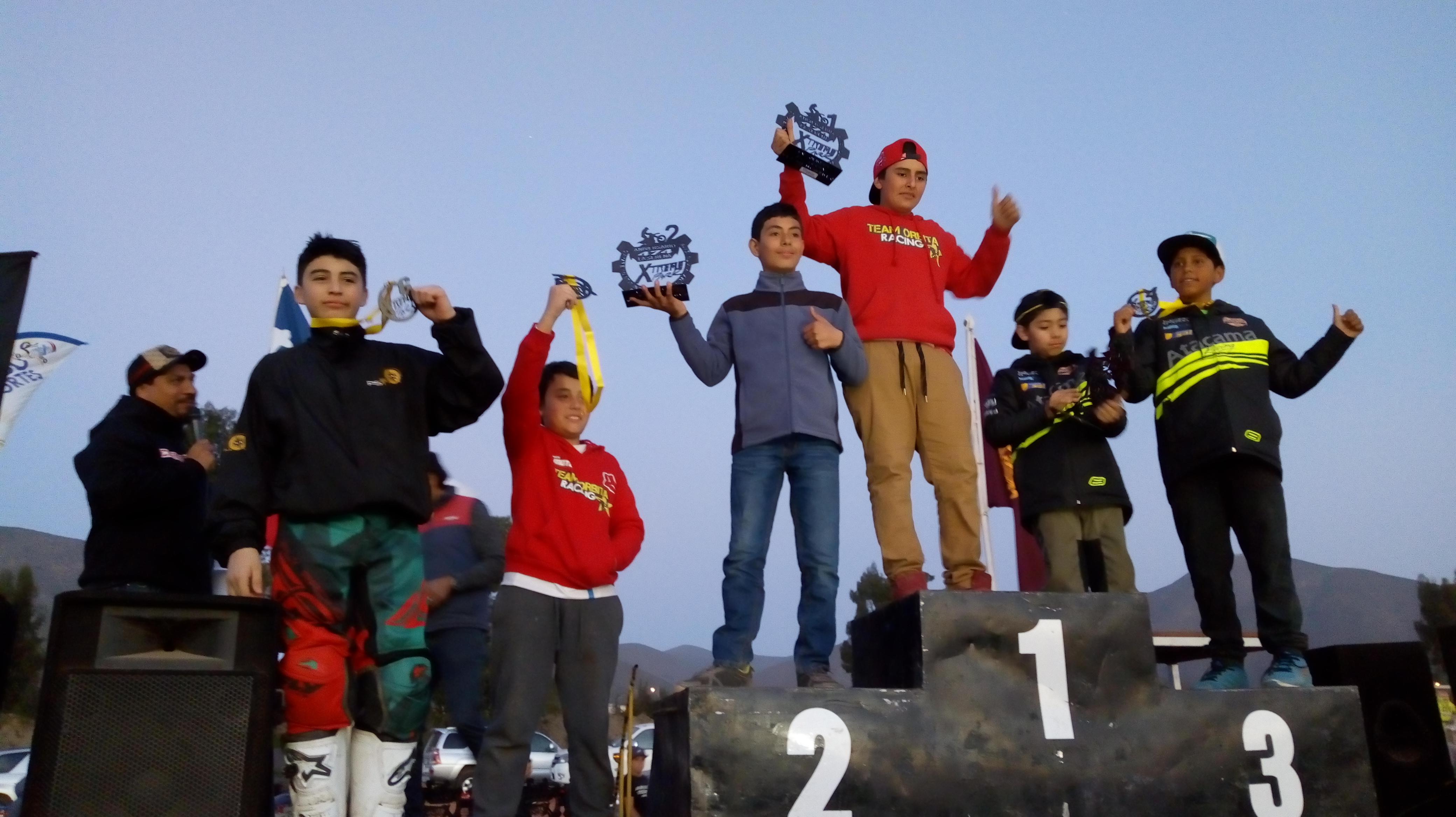Competidores vallenarinos de MX y ATV destacaron en la quinta Fecha del Interregional de la Serena