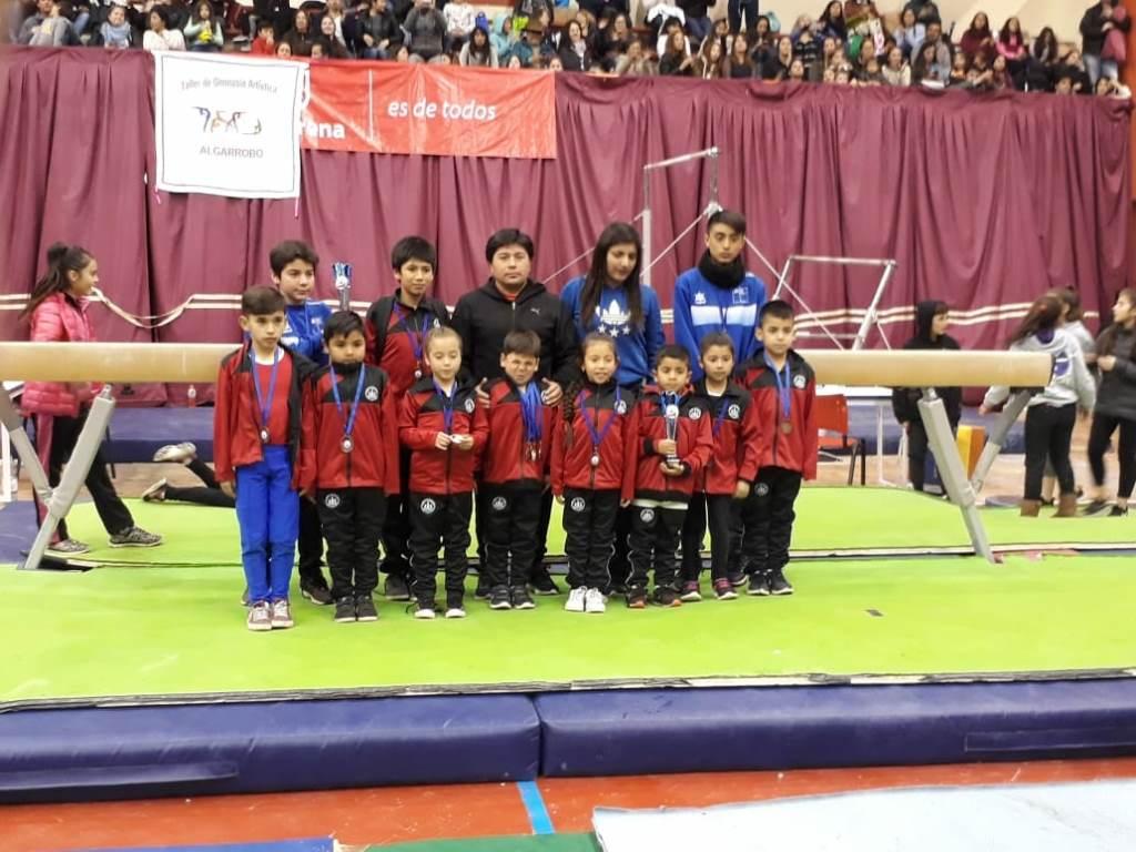 Estudiantes del Huasco obtienen 9 medallas en Copa de Gimnasia Ciudad La Serena