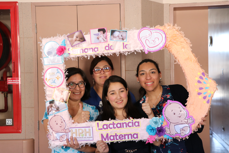 Comenzó semana de la Lactancia Materna en el Hospital Provincial del Huasco
