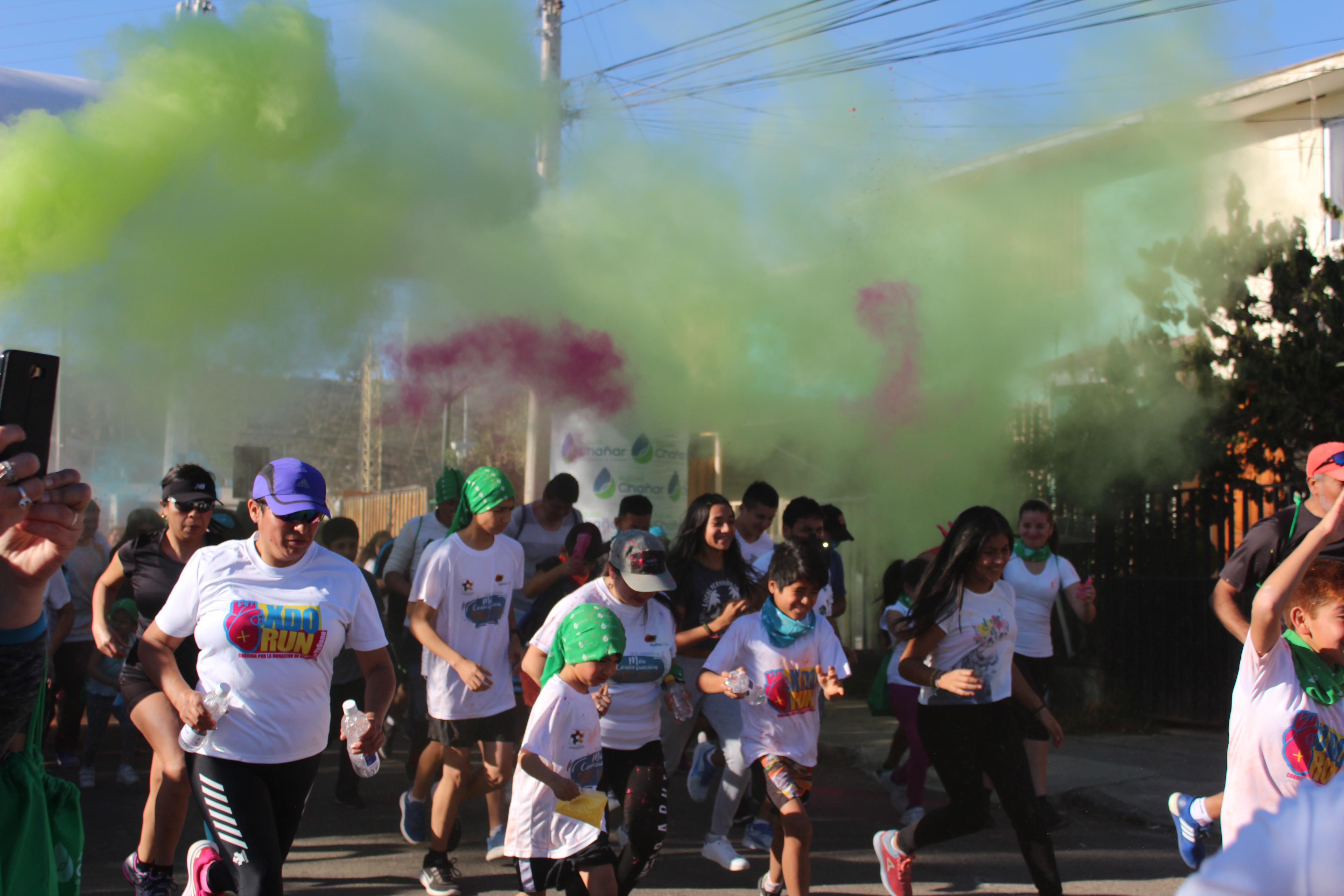 Aguas Chañar realizó exitosa corrida familiar en Vallenar