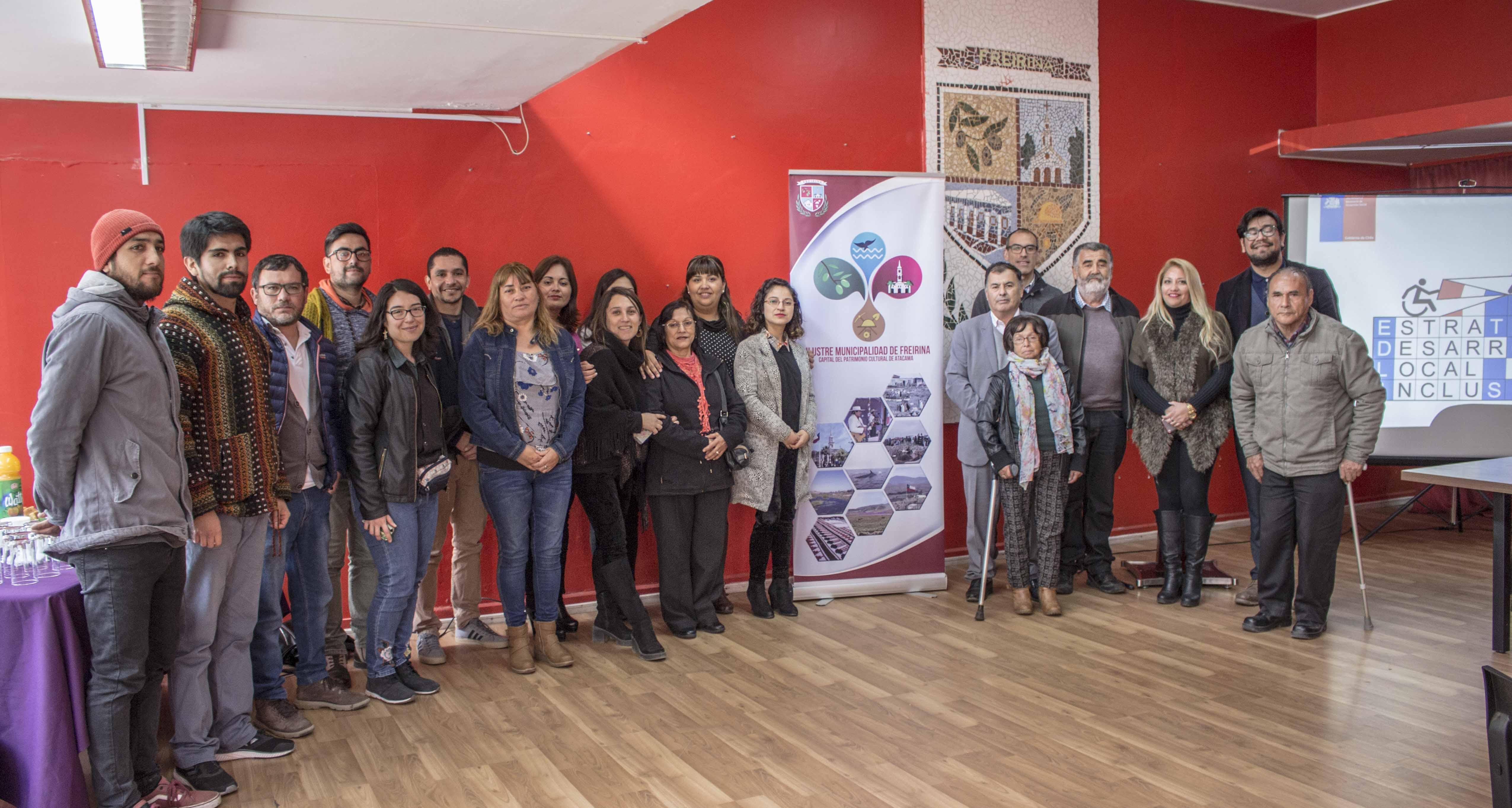 Municipalidad de Freirina y Senadis realizan el lanzamiento de estrategia de desarrollo local inclusivo