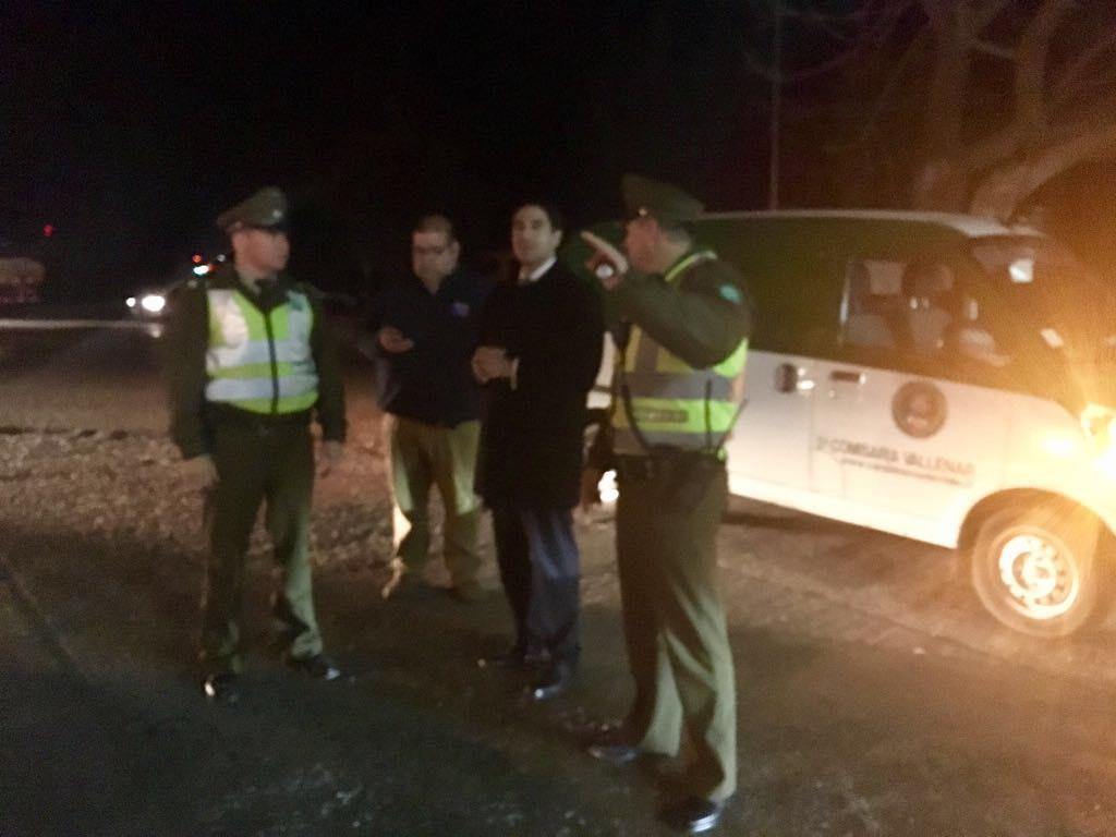 Carabineros salió a las calles a refozar seguridad ante contingencia eléctrica